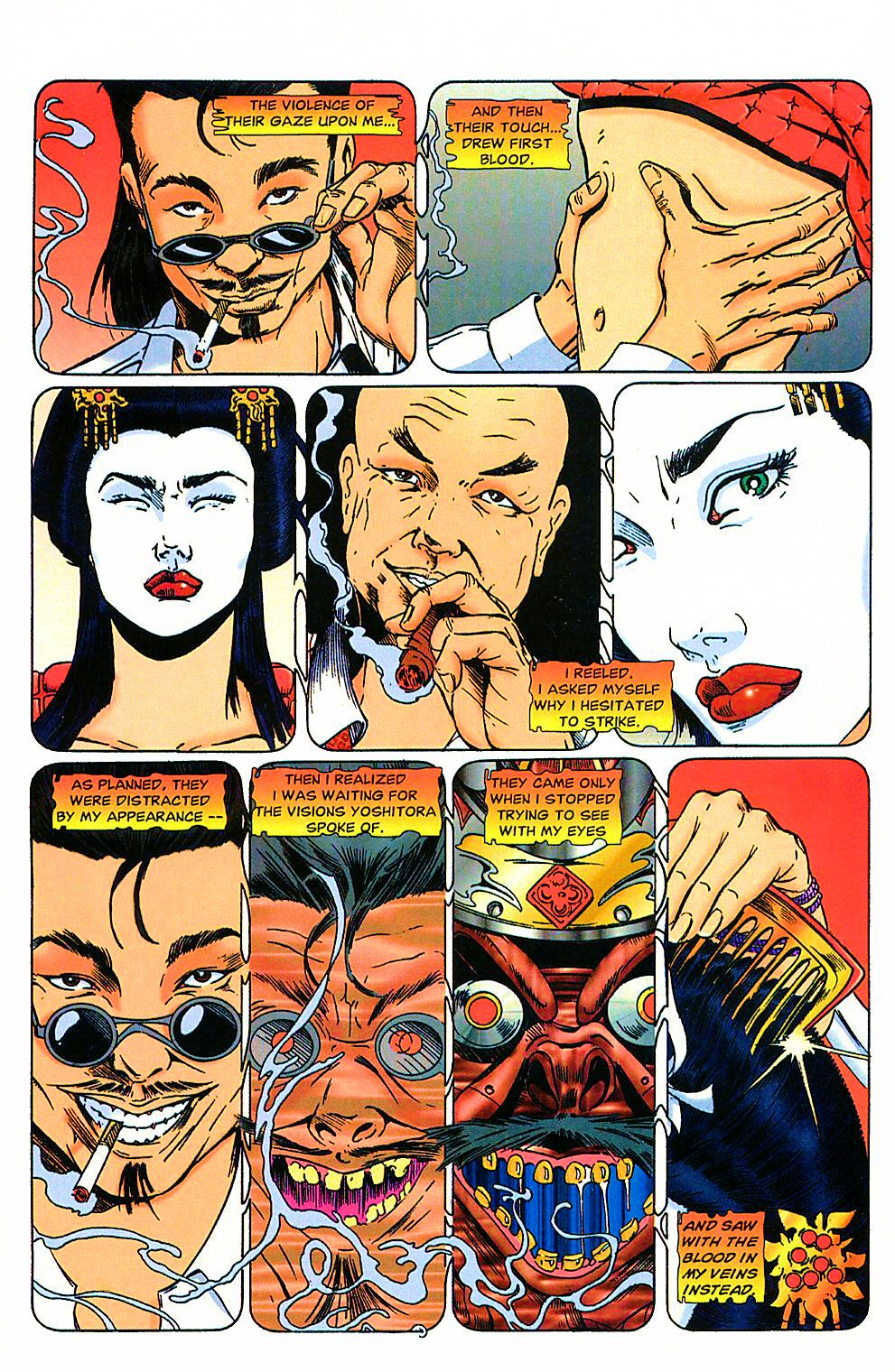 Read online Shi: The Way of the Warrior comic -  Issue #4 - 16