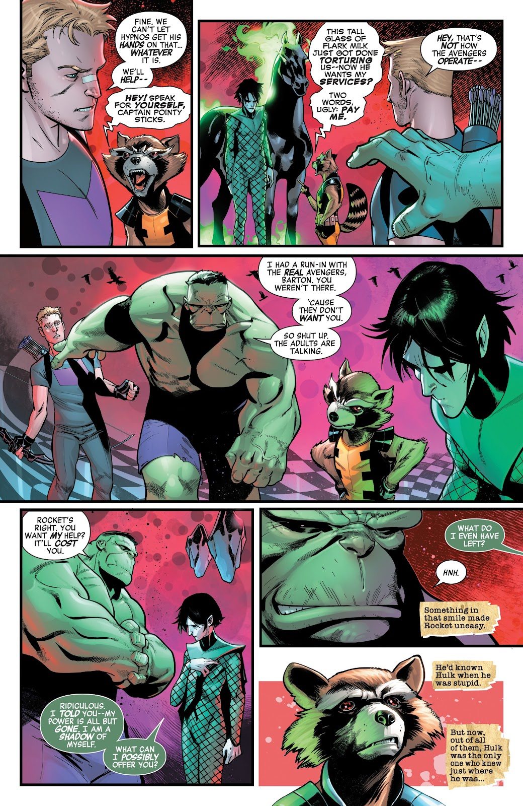 Read online Avengers No Road Home comic -  Issue #3 - 16