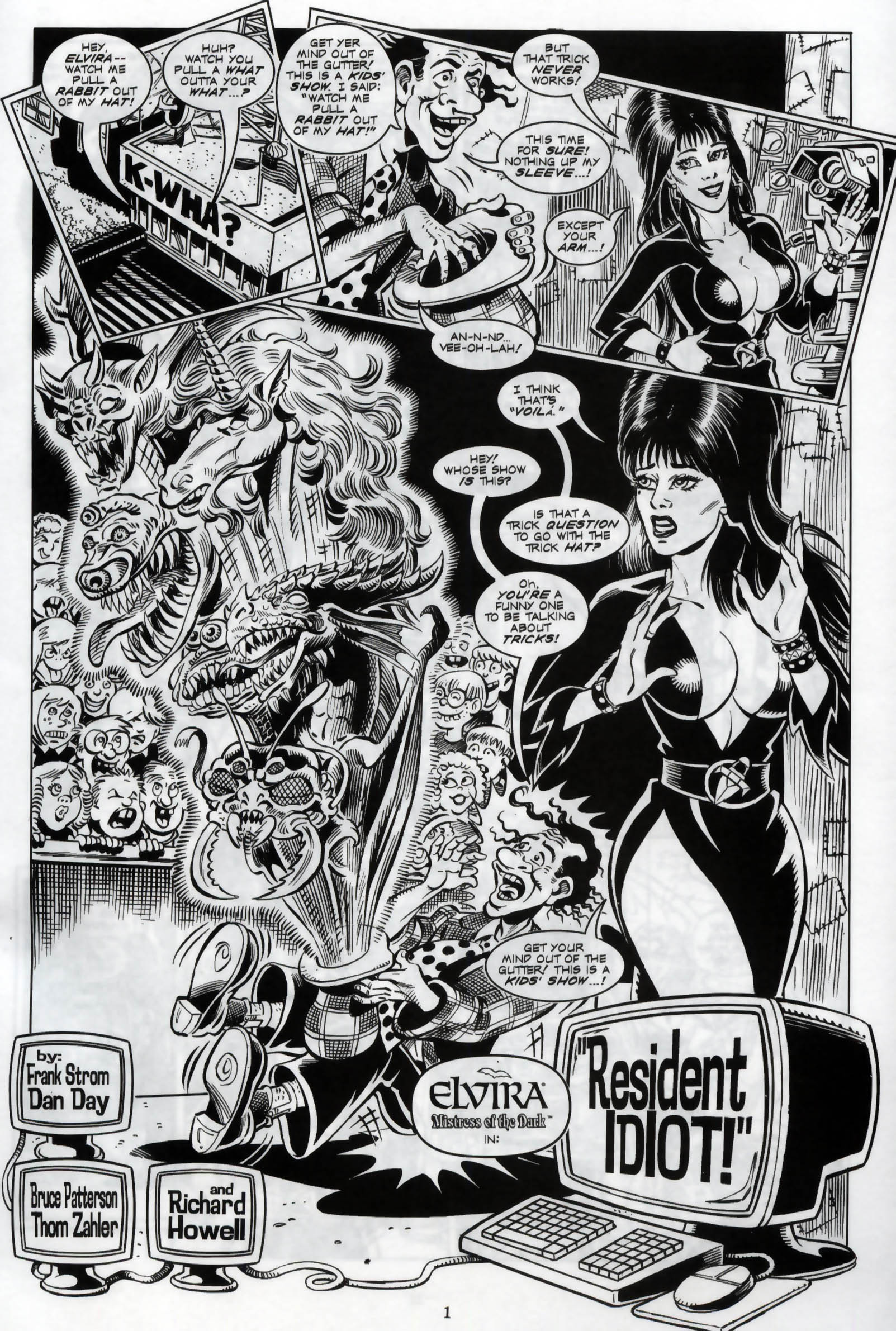 Read online Elvira, Mistress of the Dark comic -  Issue #119 - 3