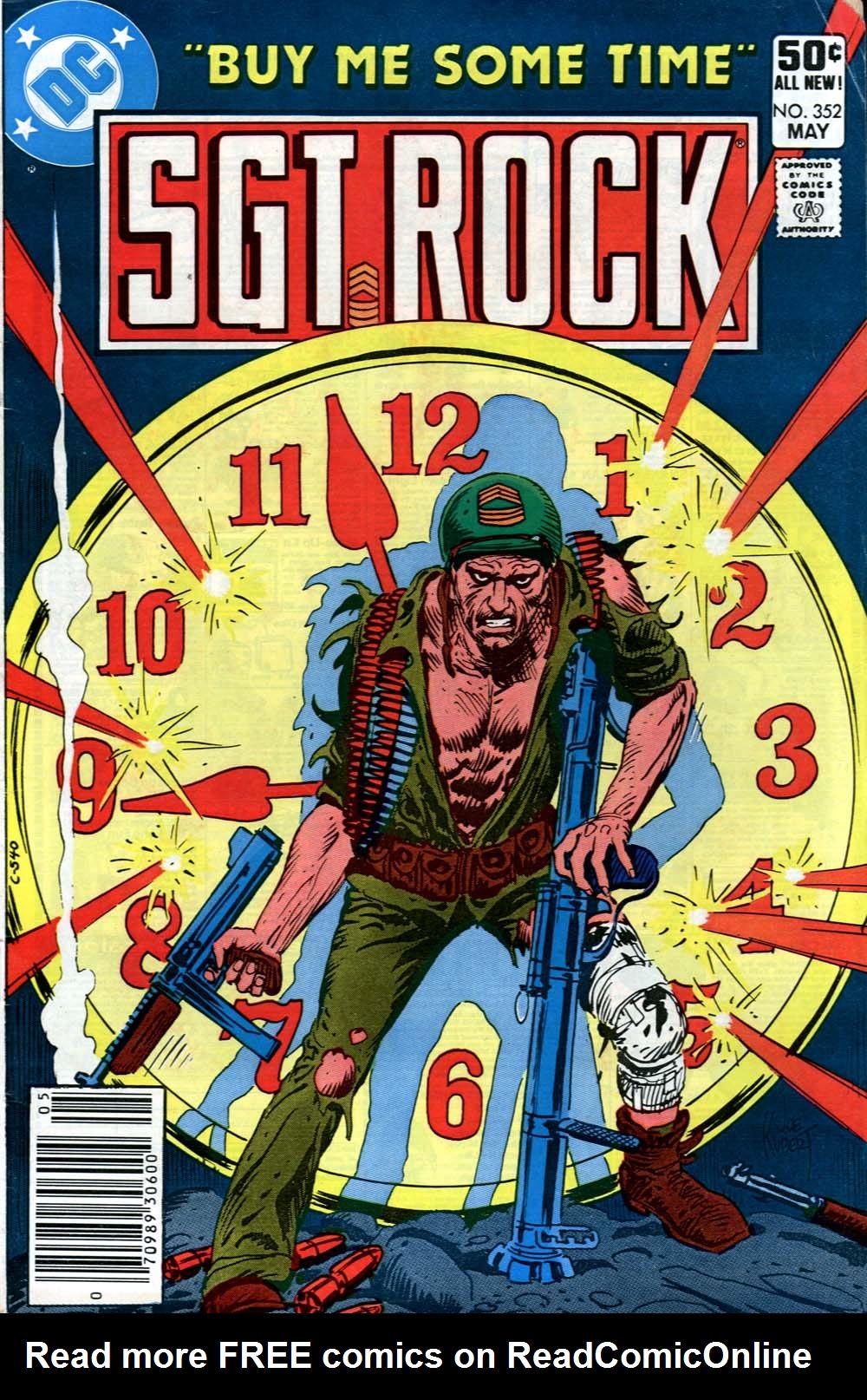 Read online Sgt. Rock comic -  Issue #352 - 1