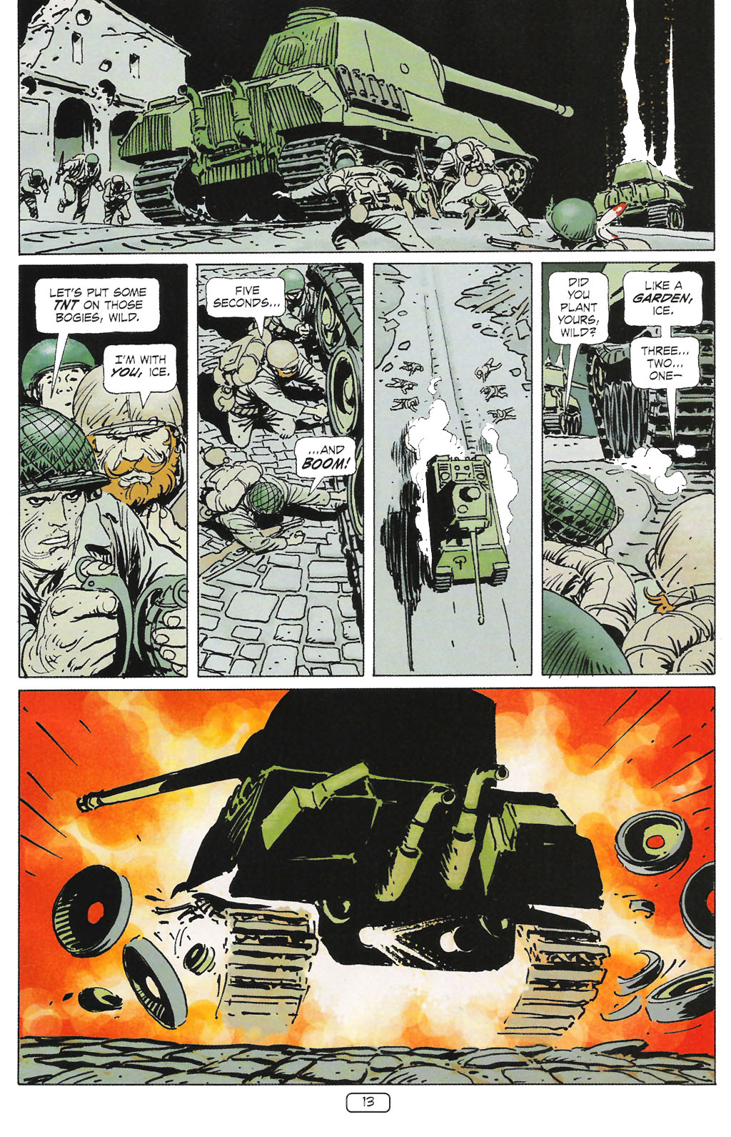 Read online Sgt. Rock: The Prophecy comic -  Issue #1 - 15