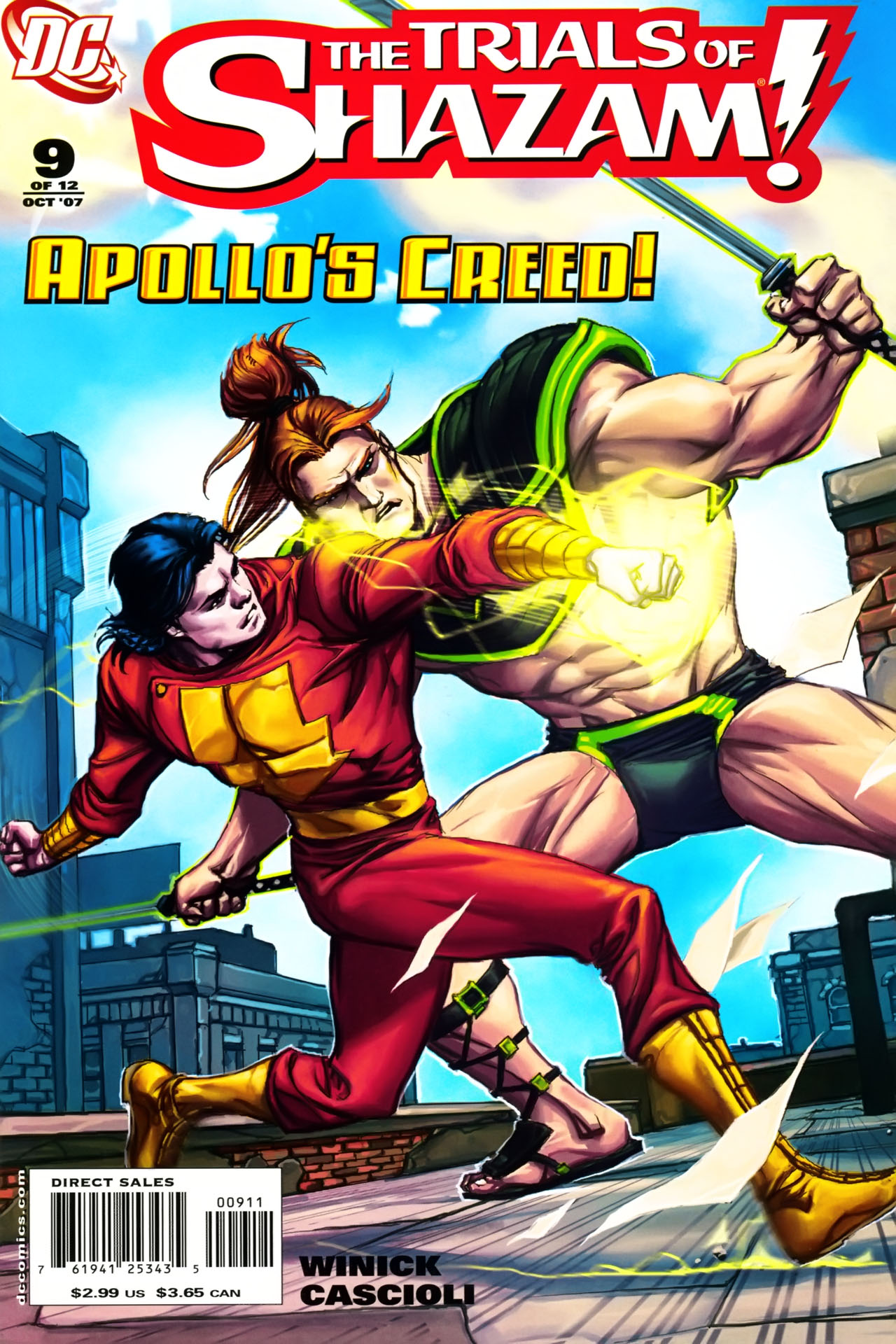 Read online Trials of Shazam comic -  Issue #9 - 1