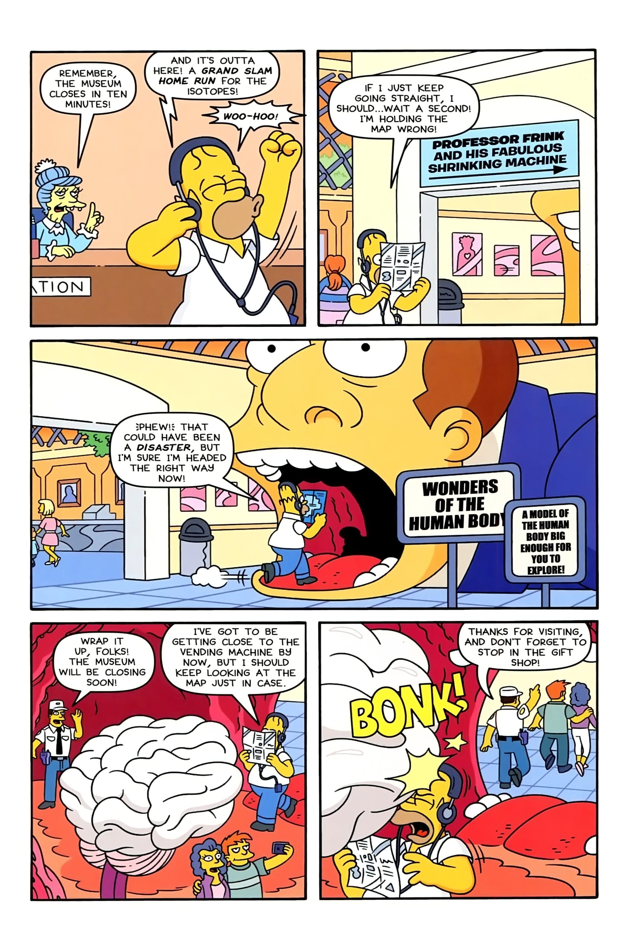 Read online Simpsons Comics comic -  Issue #234 - 6