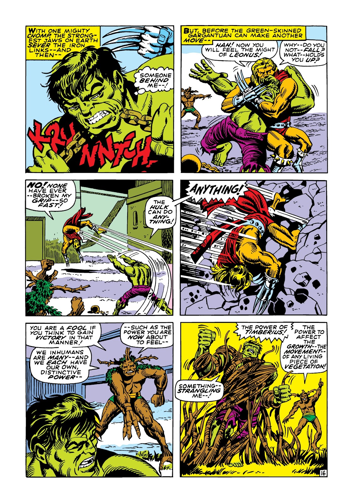 Read online Marvel Masterworks: The Incredible Hulk comic -  Issue # TPB 5 (Part 2) - 90