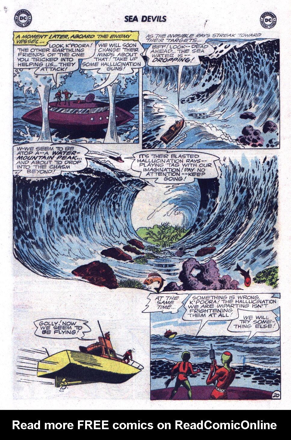 Read online Sea Devils comic -  Issue #17 - 28