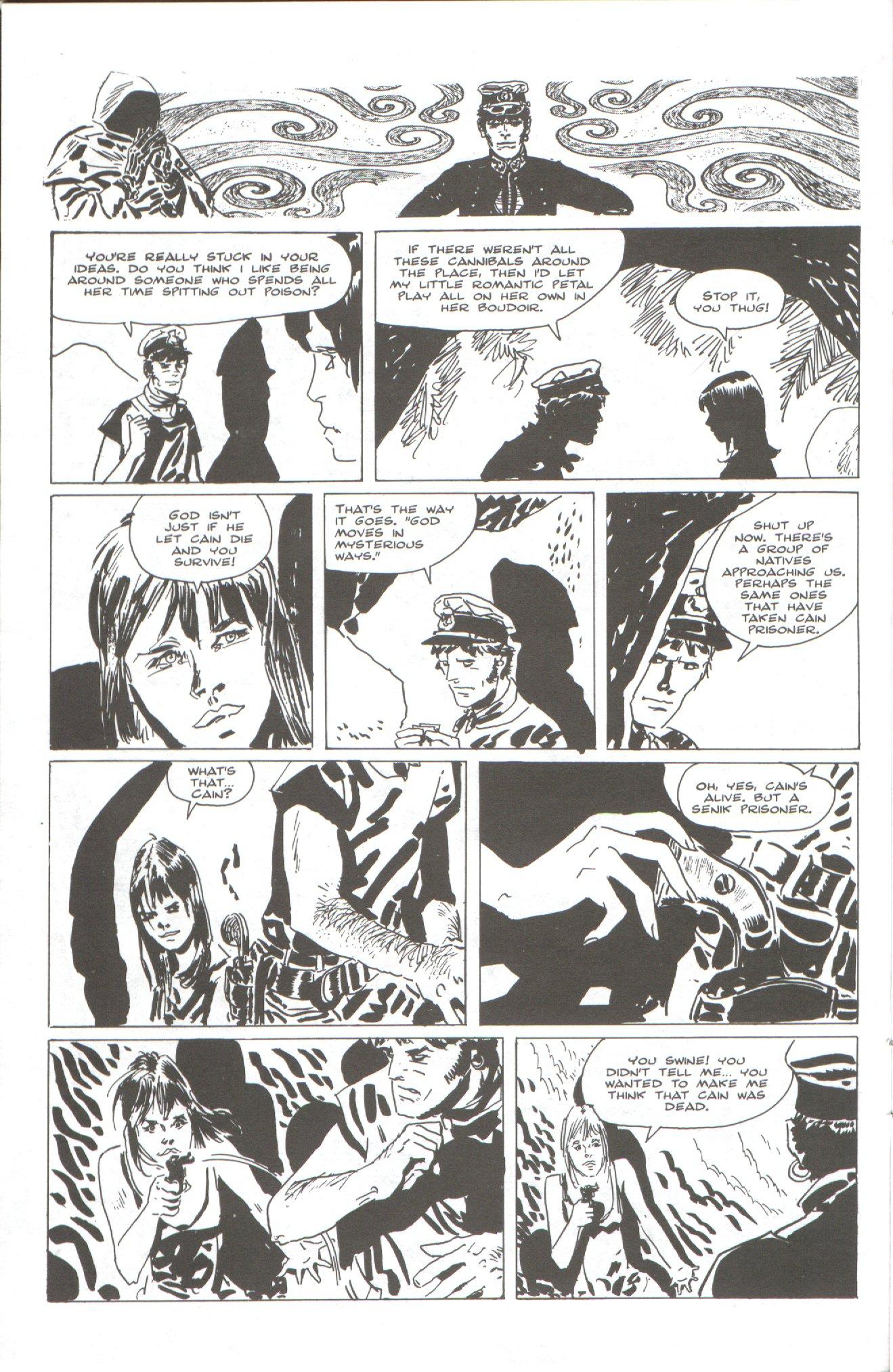Read online Corto Maltese: Ballad of the Salt Sea comic -  Issue #2 - 10