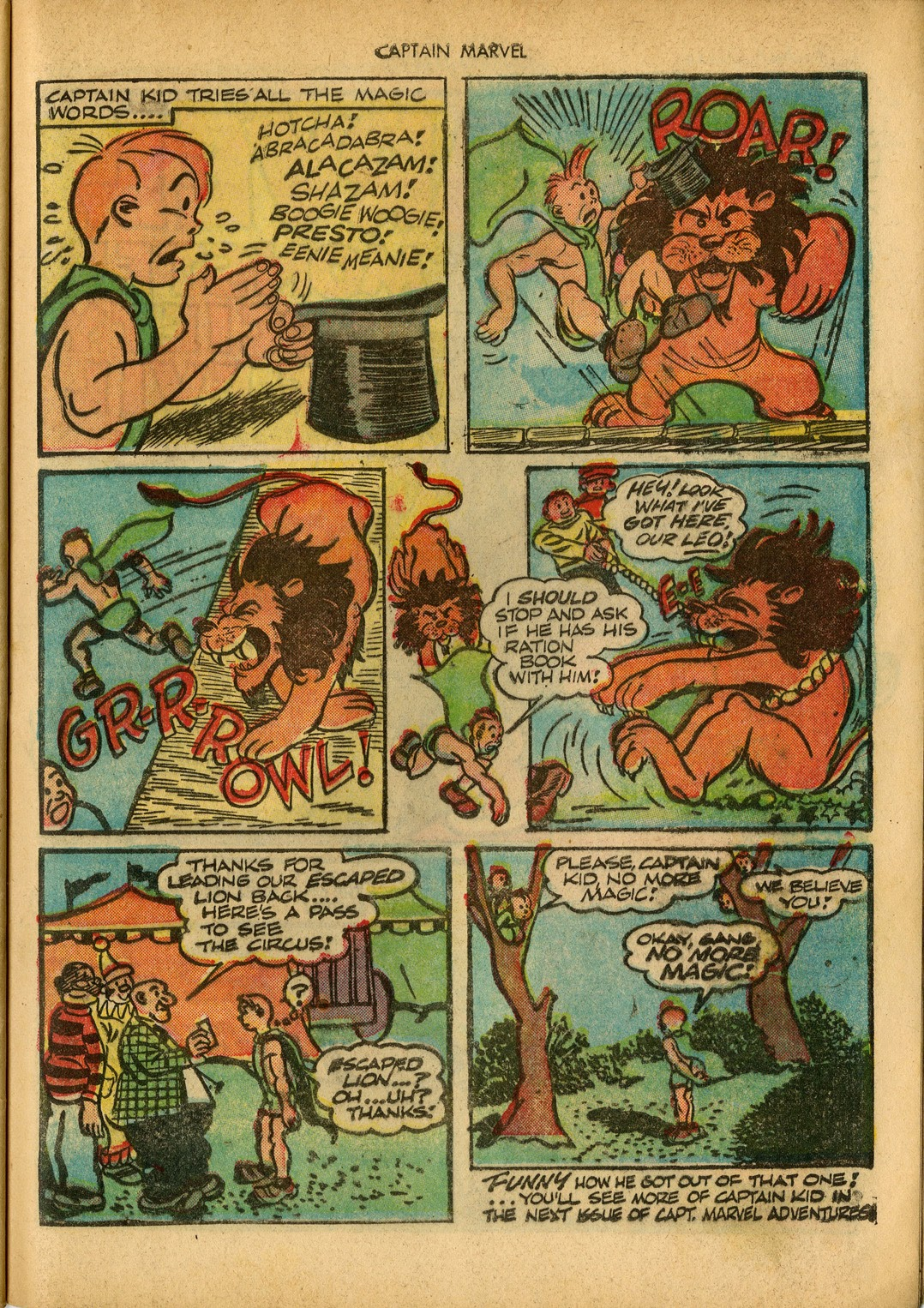 Captain Marvel Adventures issue 34 - Page 49