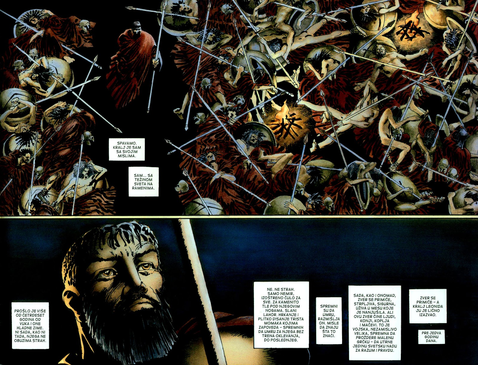 Read online 300 (2007) comic -  Issue # TPB - 16