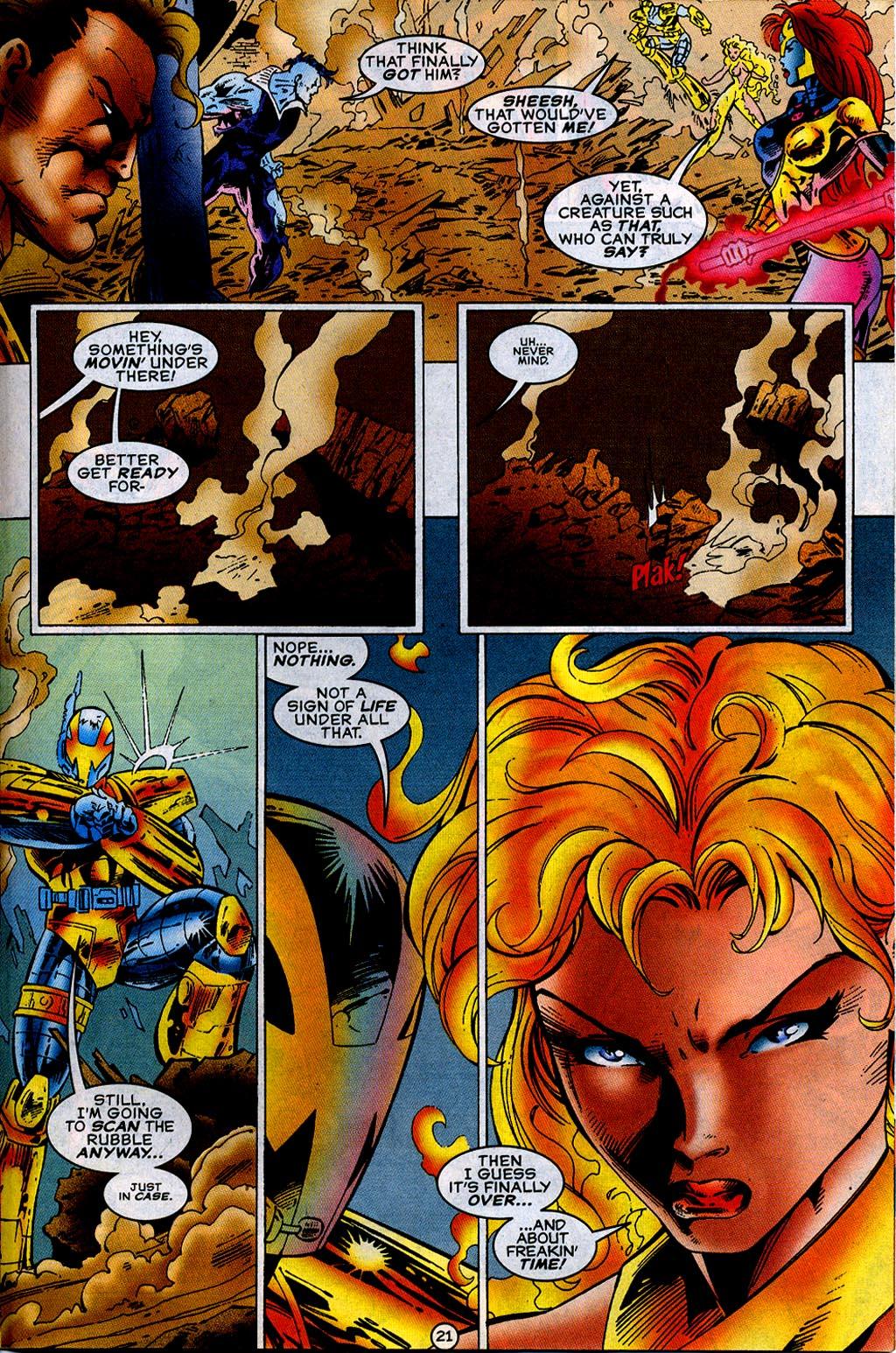 Read online UltraForce (1995) comic -  Issue #12 - 23