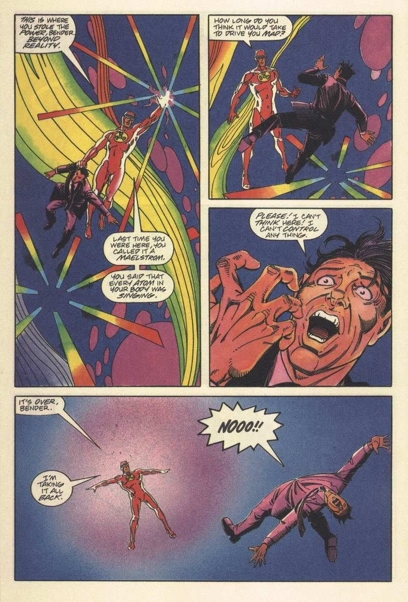 Read online Solar, Man of the Atom comic -  Issue #15 - 20