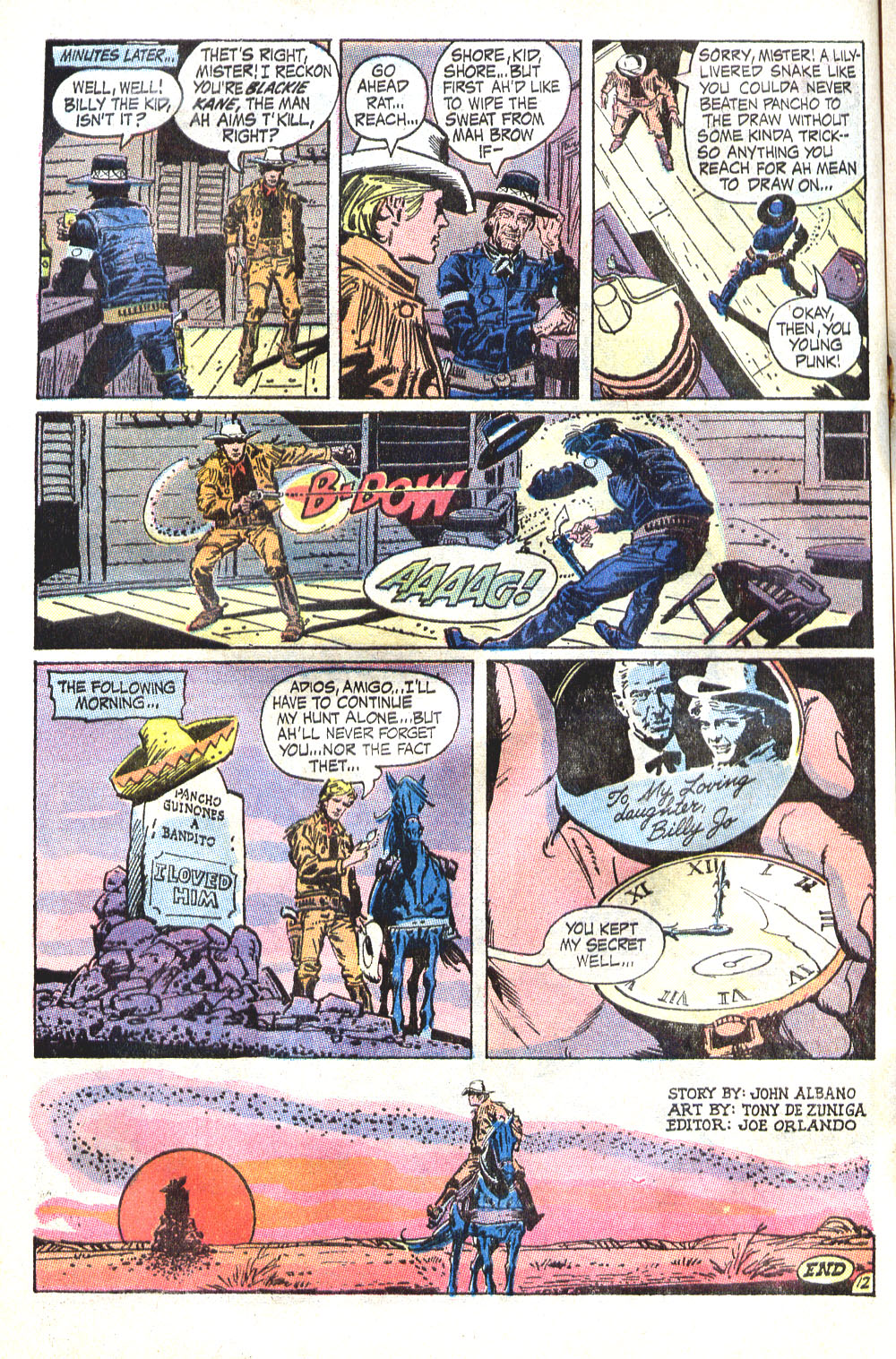 Read online All-Star Western (1970) comic -  Issue #6 - 16