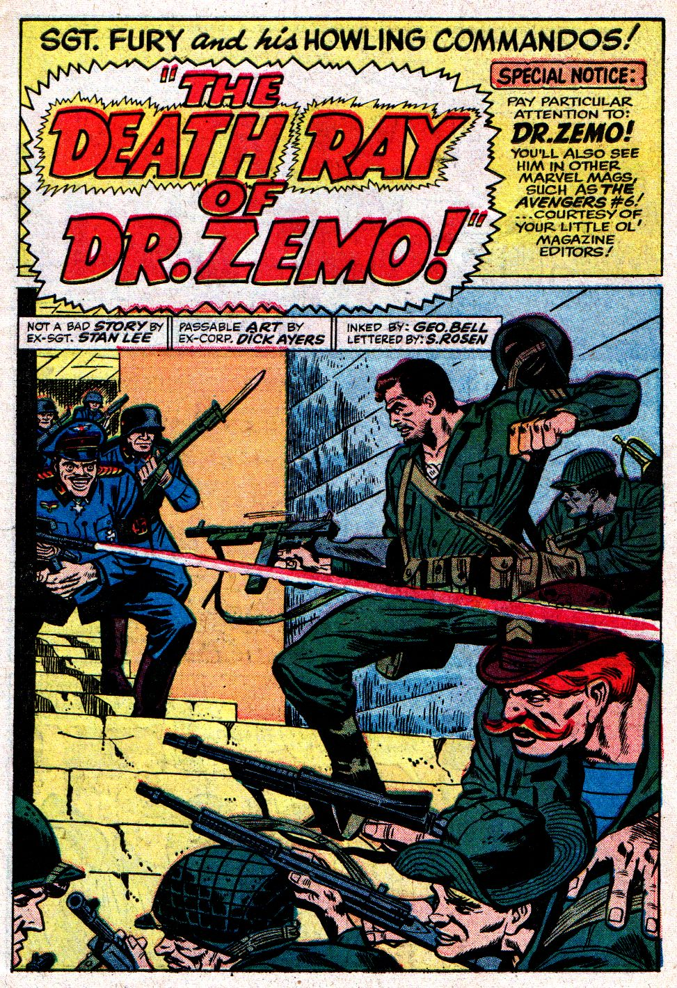 Read online Sgt. Fury comic -  Issue #8 - 3