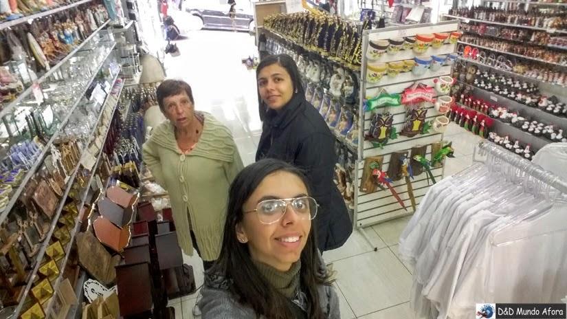 Loja em uma das ladeiras de Aparecida - o que fazer em Aparecida - São Paulo