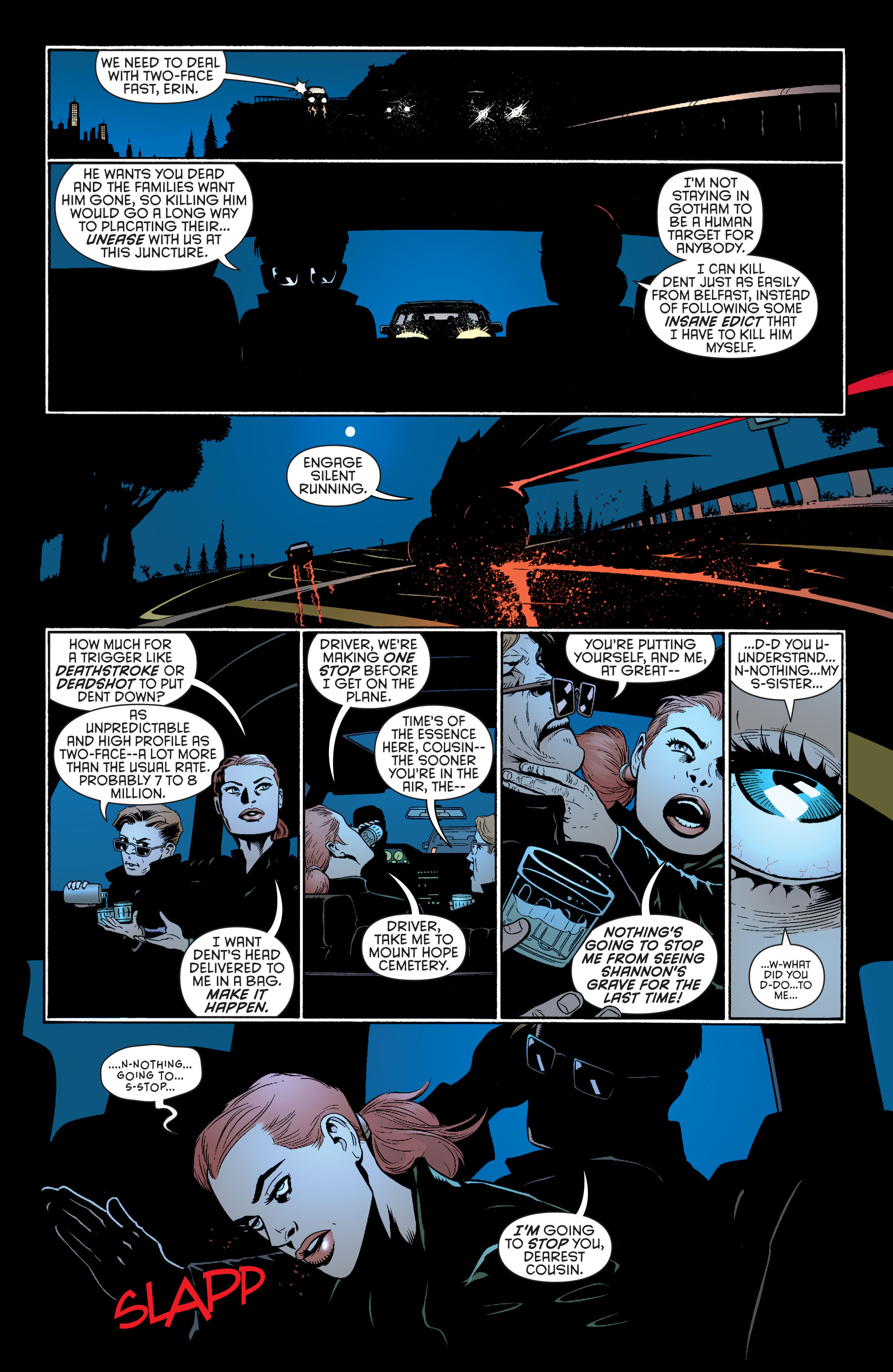 Read online Batman and Robin (2011) comic -  Issue #26 - Batman and Two-Face - 14