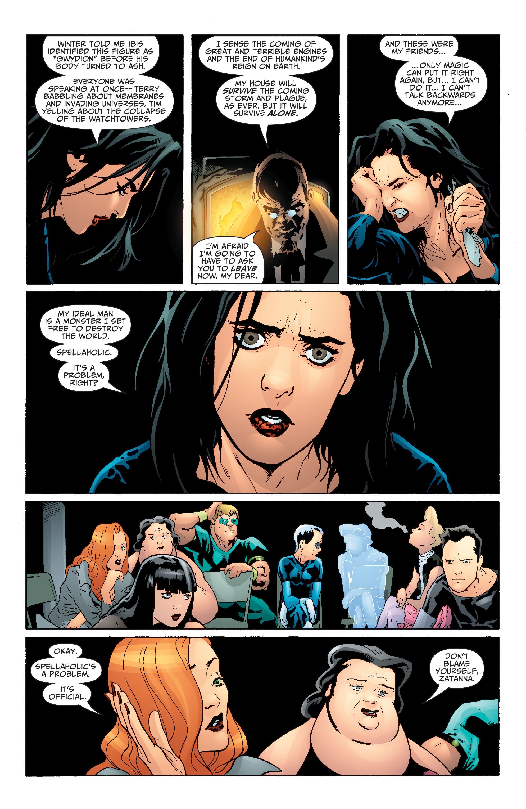 Read online Seven Soldiers: Zatanna comic -  Issue #1 - 18