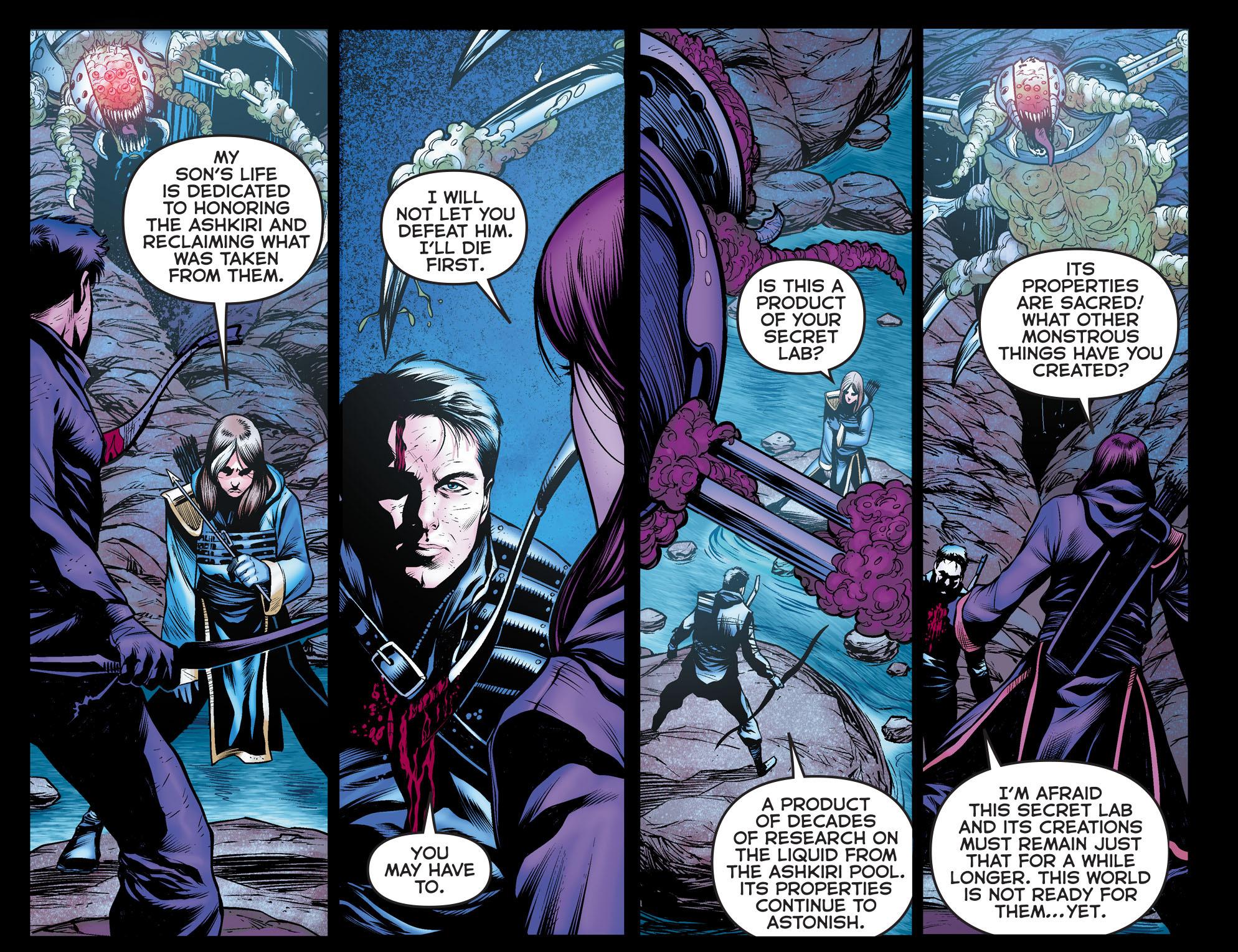 Read online Arrow: The Dark Archer comic -  Issue #10 - 11
