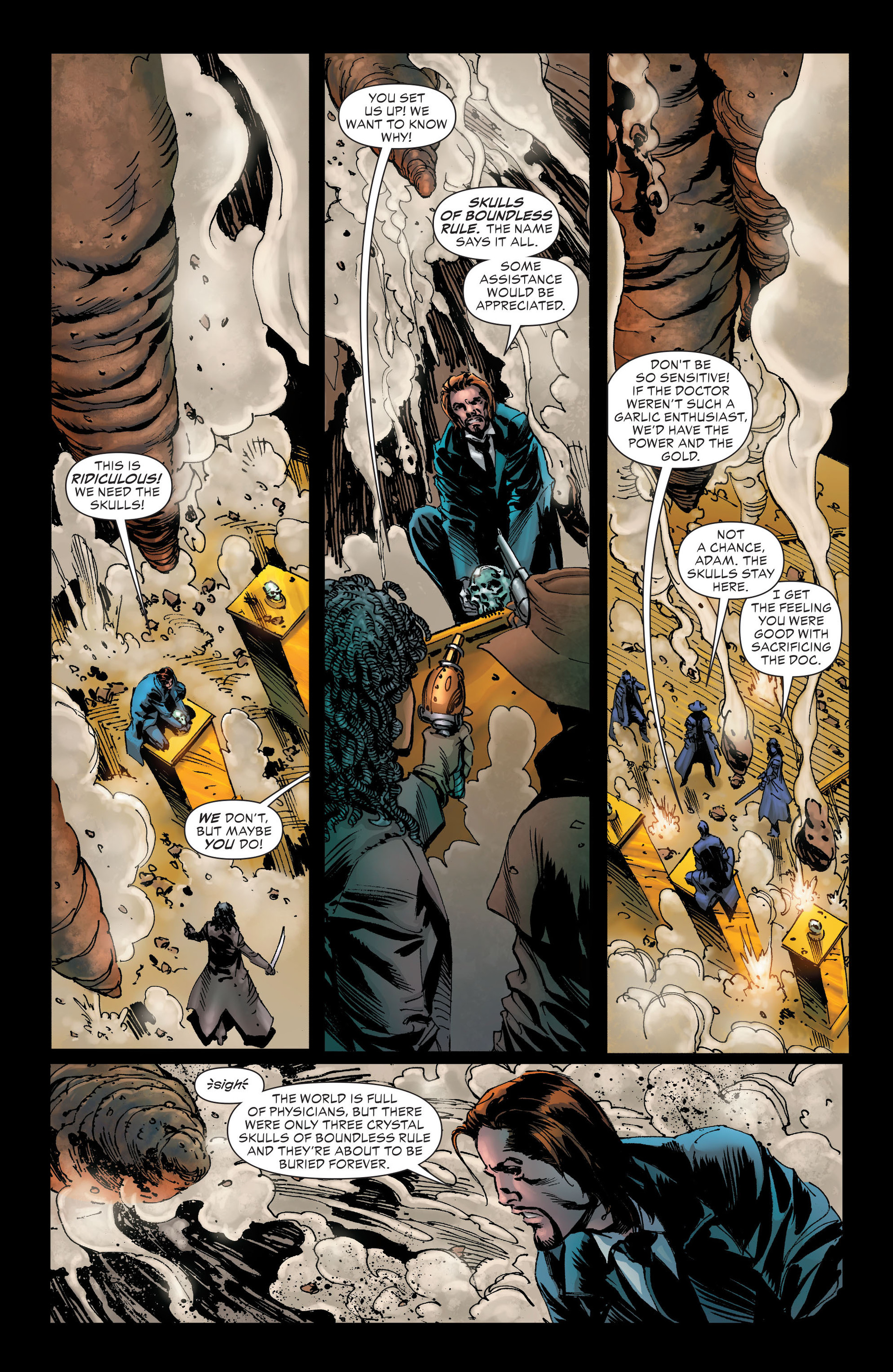 Read online All-Star Western (2011) comic -  Issue #21 - 26