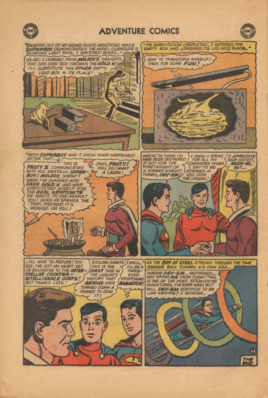 Read online Adventure Comics (1938) comic -  Issue #320 - 22