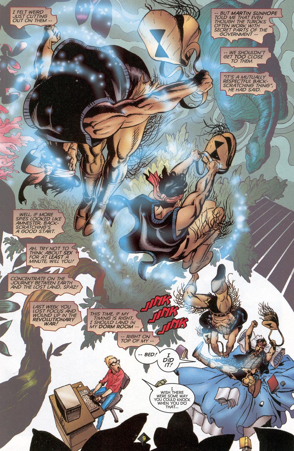 Read online Turok: Redpath comic -  Issue # Full - 8