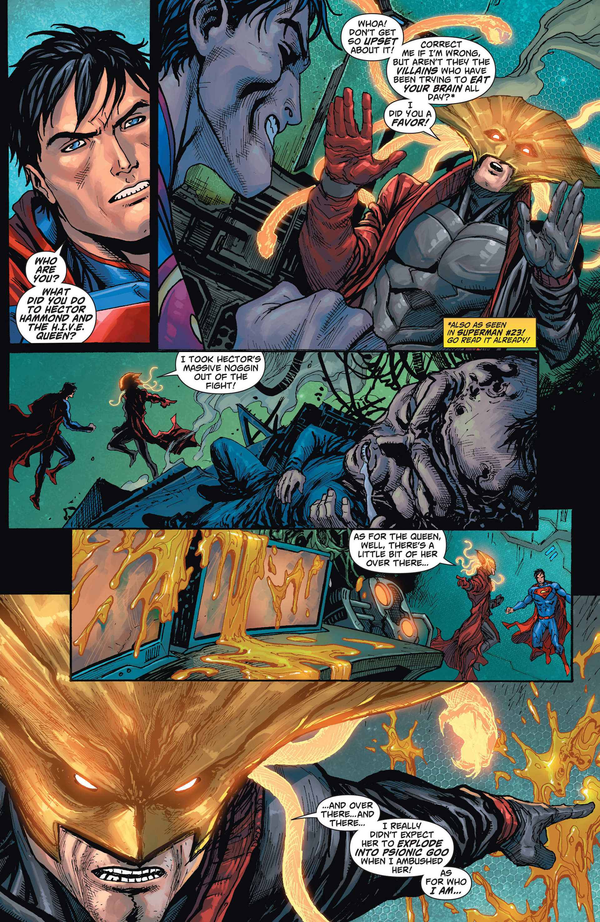Read online Action Comics (2011) comic -  Issue #24 - 4