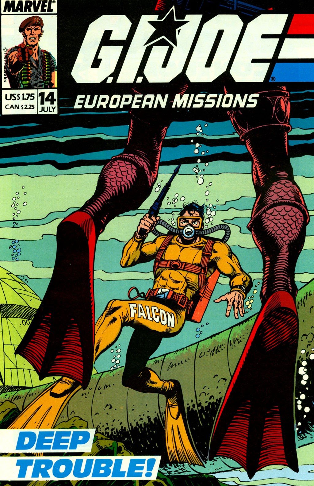 G.I. Joe European Missions issue 14 - Page 2