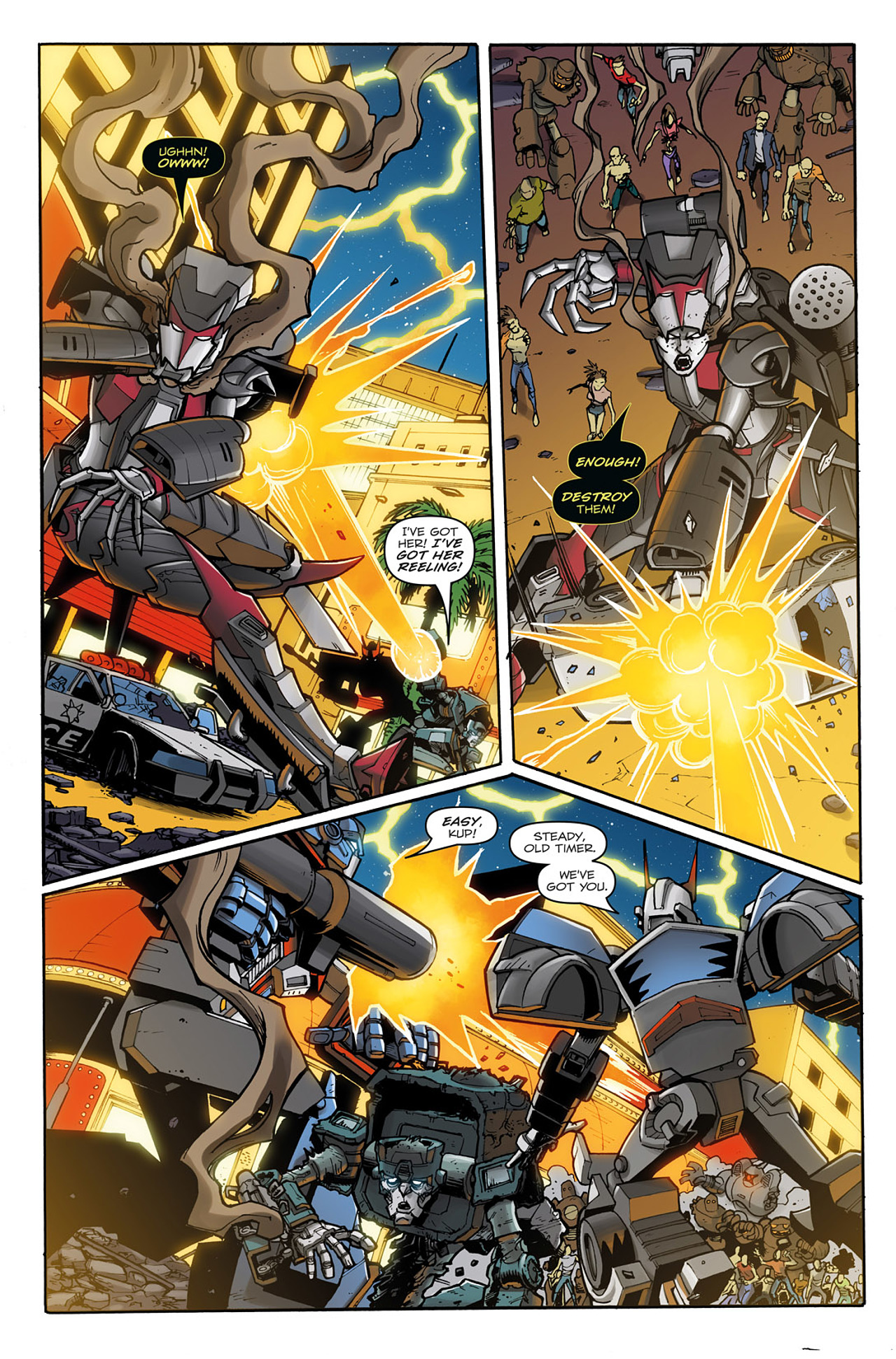 Read online Transformers: Infestation comic -  Issue #2 - 11