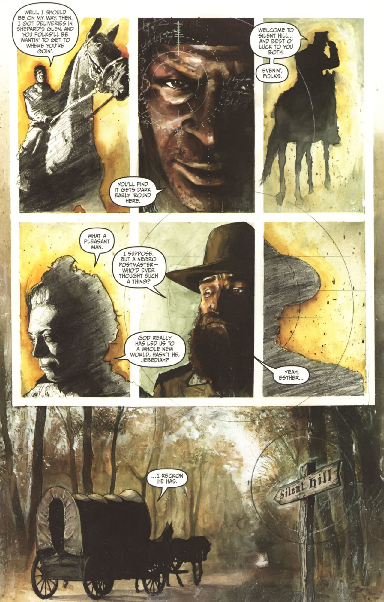 Read online Silent Hill: Past Life comic -  Issue #1 - 9