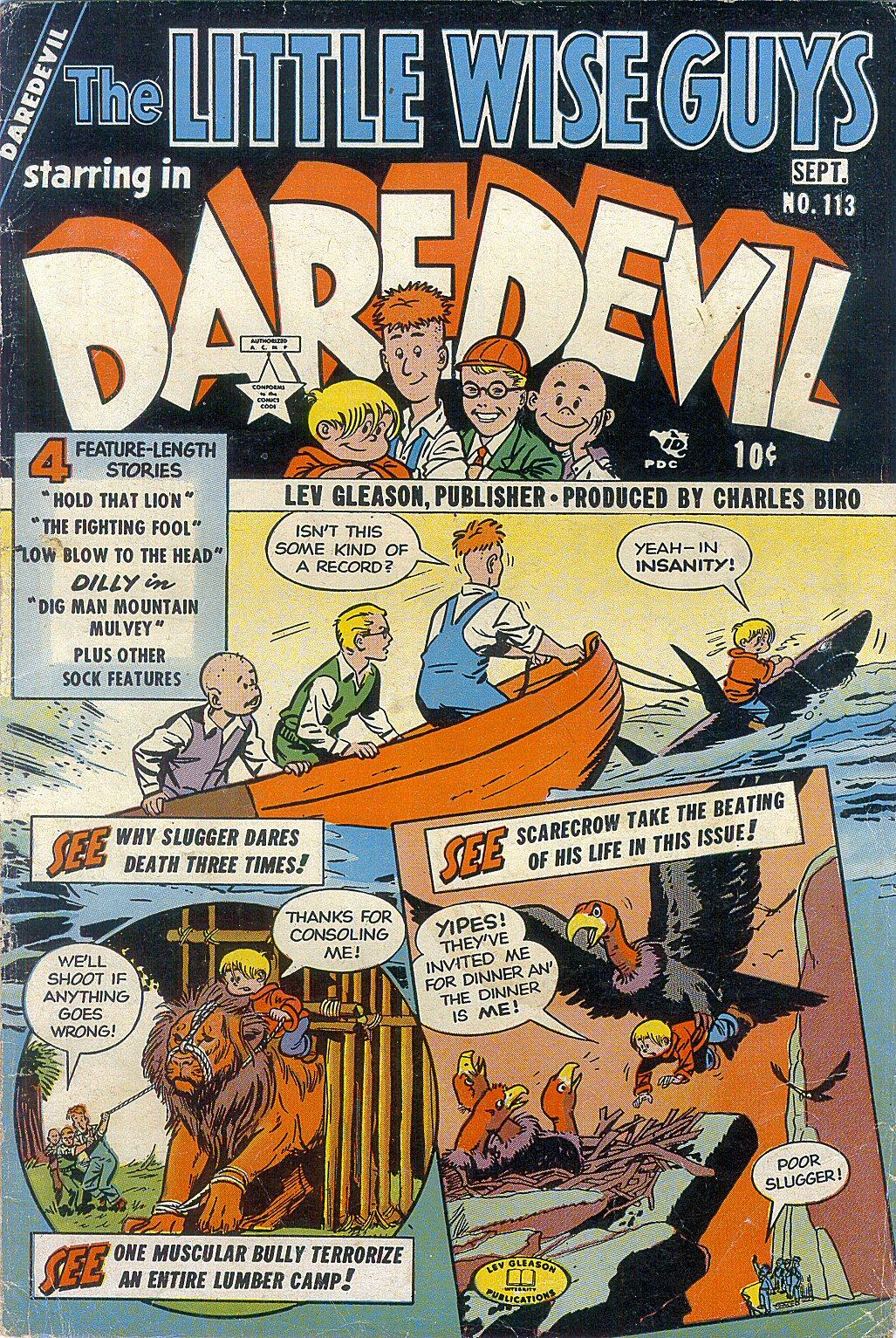 Daredevil (1941) 113 Page 1