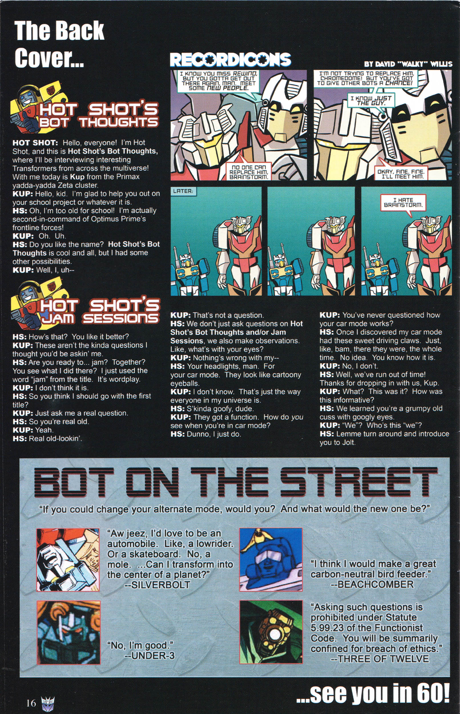 Read online Transformers: Collectors' Club comic -  Issue #61 - 16