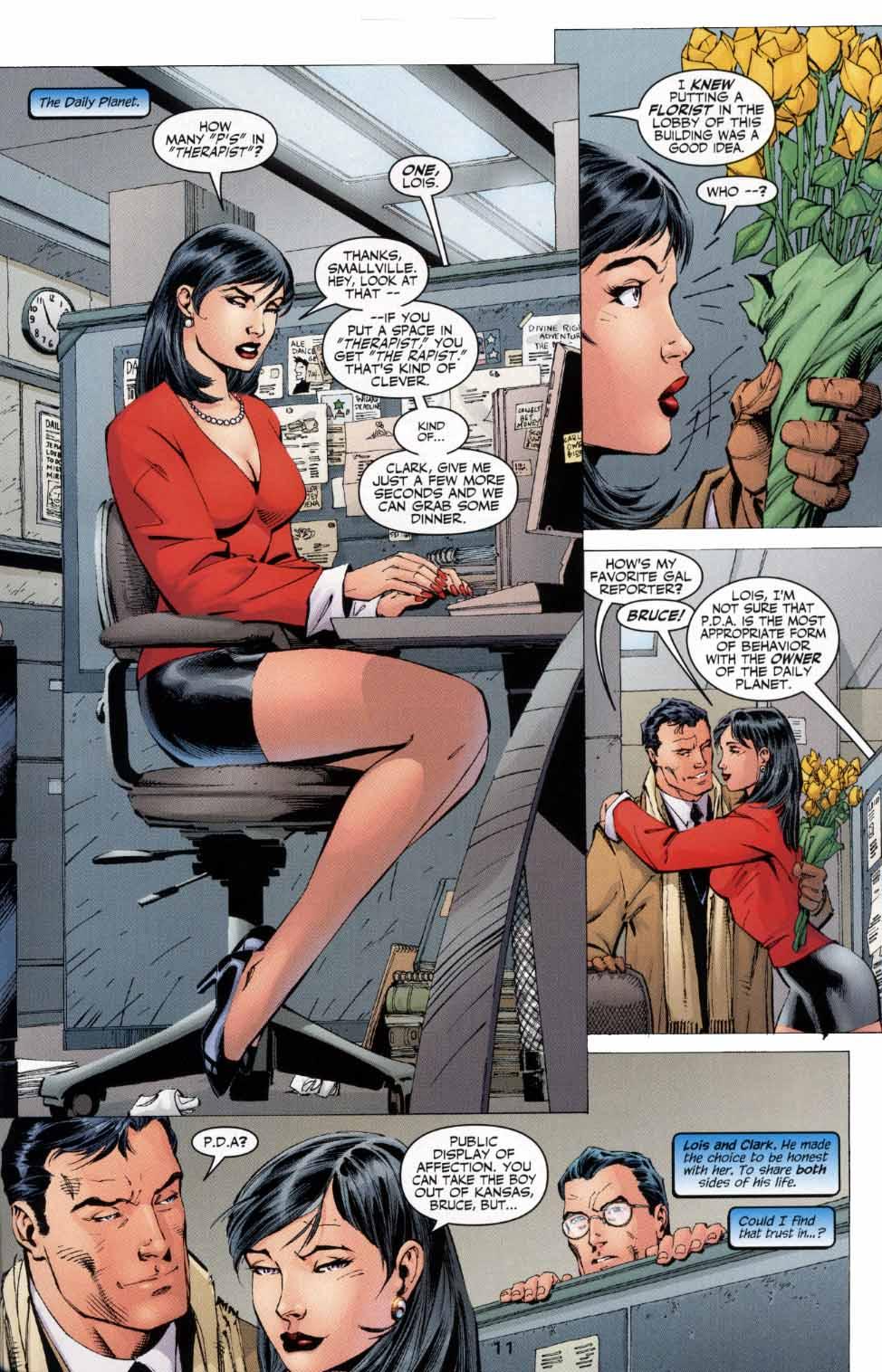 Read online Batman: Hush comic -  Issue #4 - 11