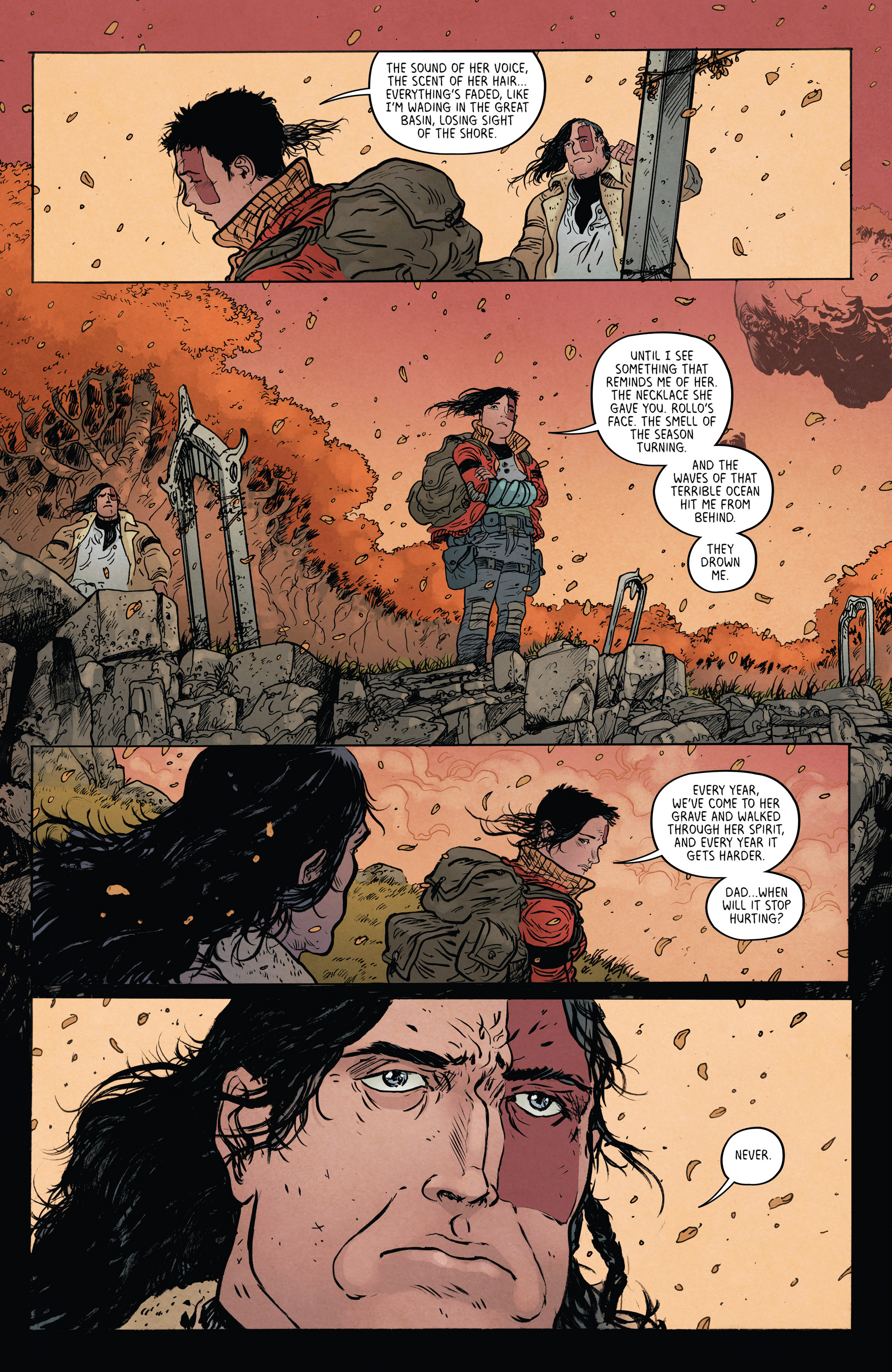 Read online Extremity comic -  Issue #4 - 5