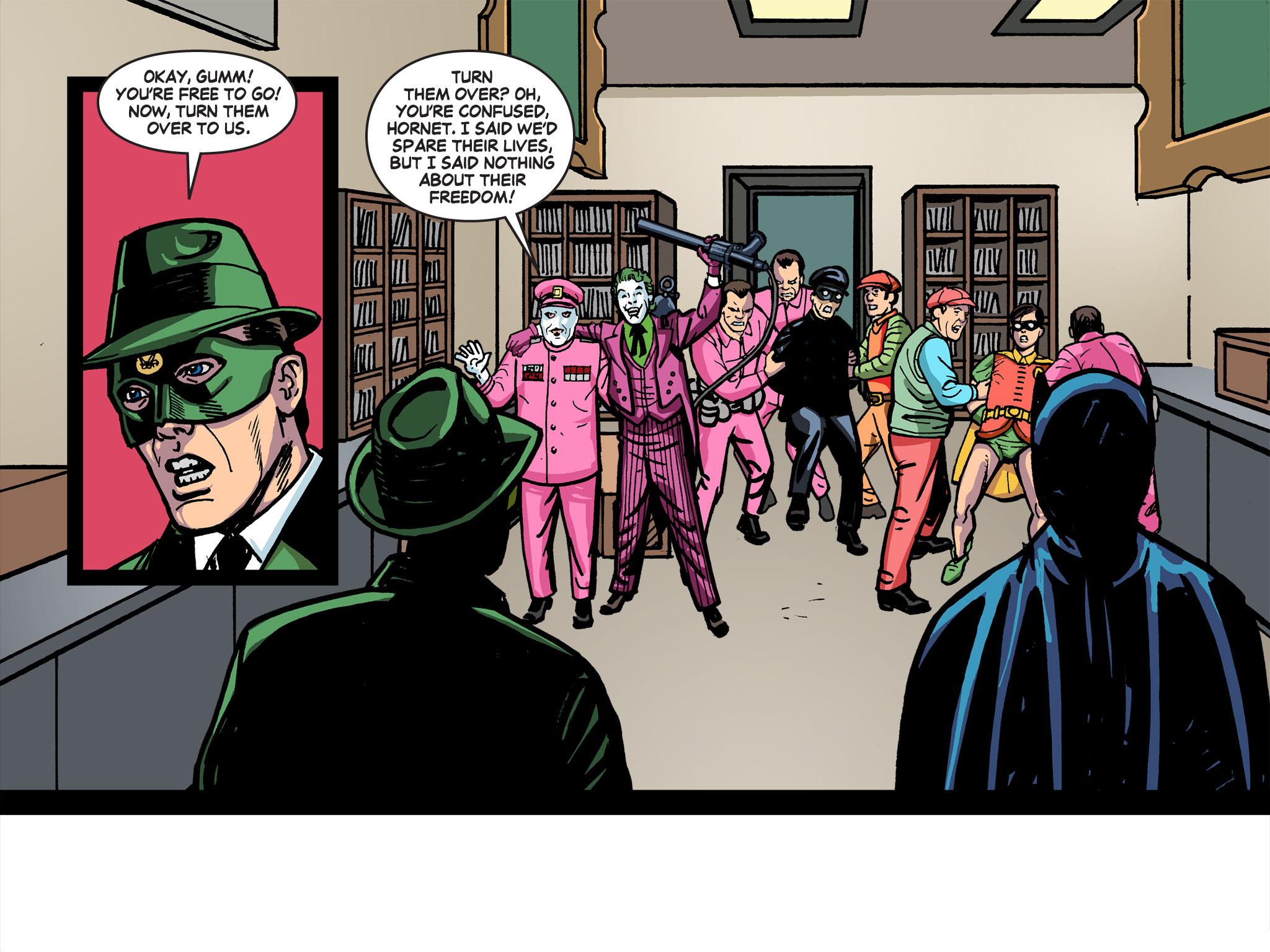 Read online Batman '66 Meets the Green Hornet [II] comic -  Issue #5 - 20