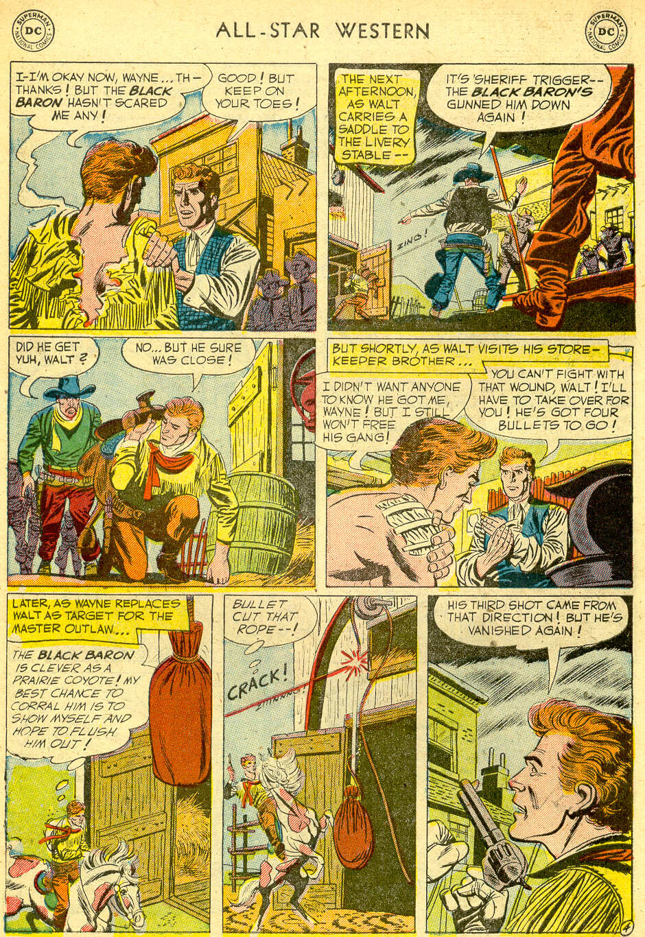 Read online All-Star Western (1951) comic -  Issue #68 - 6