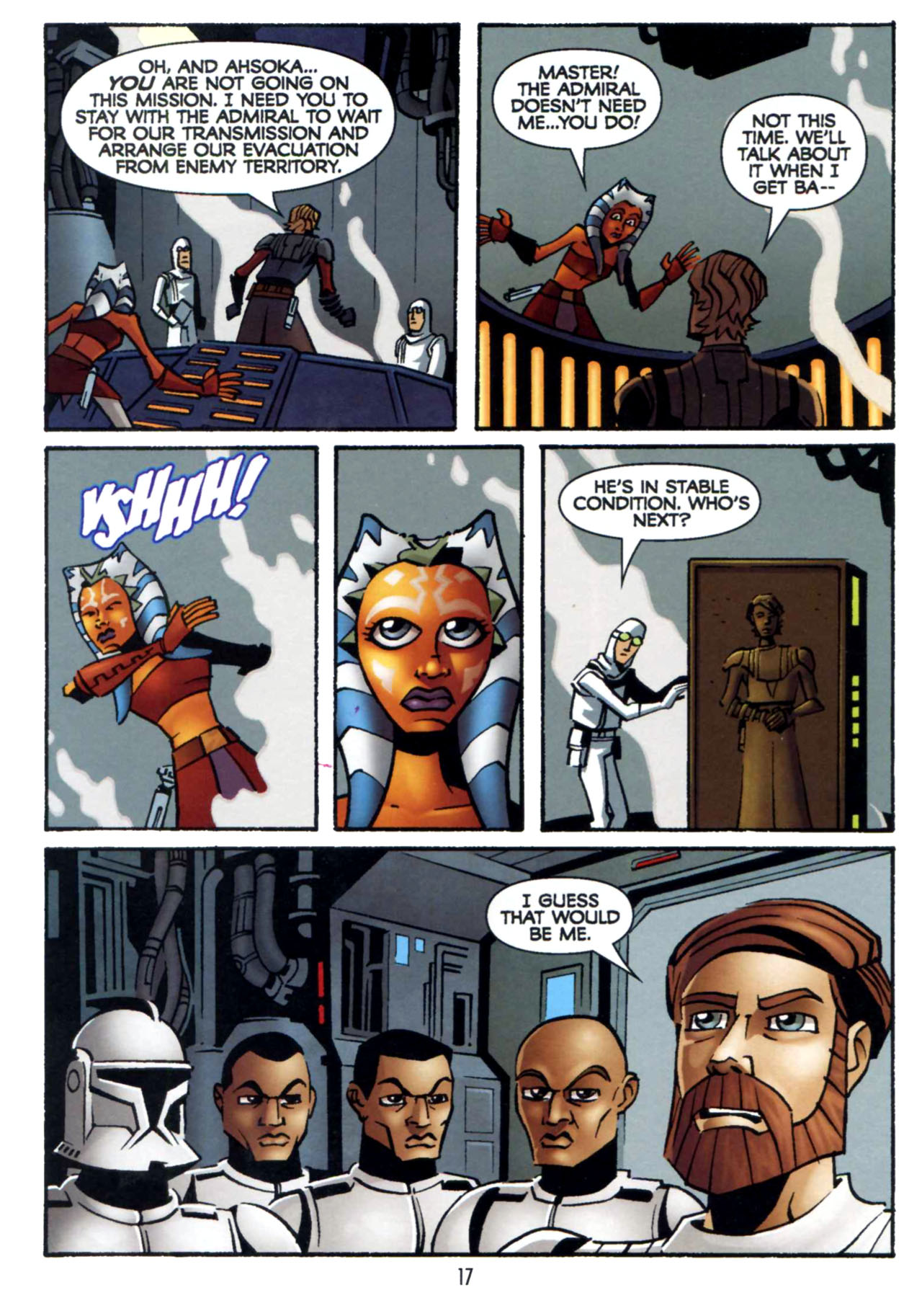 Read online Star Wars: The Clone Wars - Shipyards of Doom comic -  Issue # Full - 16