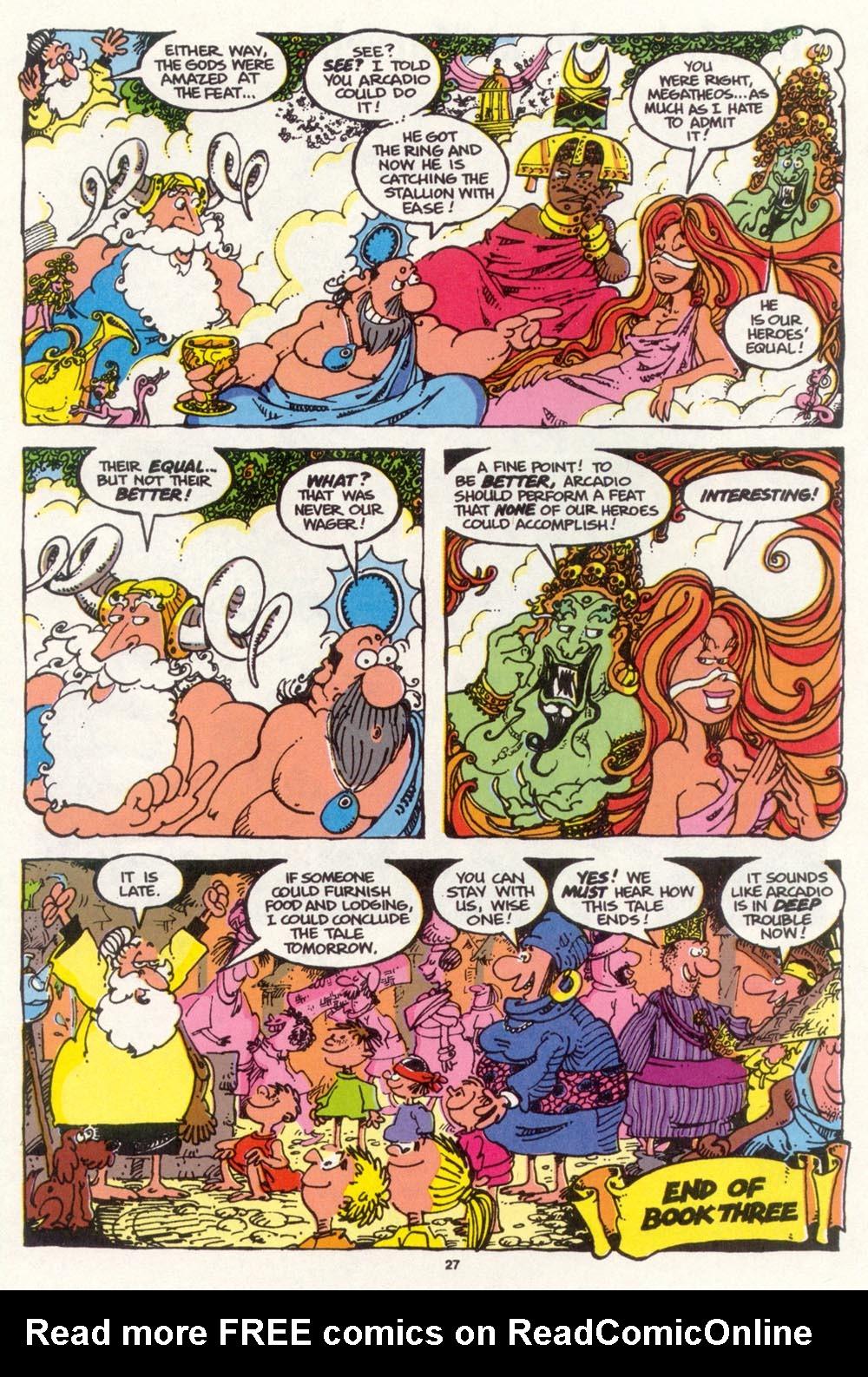Read online Sergio Aragonés Groo the Wanderer comic -  Issue #98 - 28