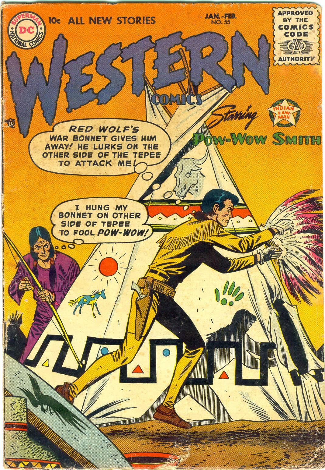 Western Comics 55 Page 1