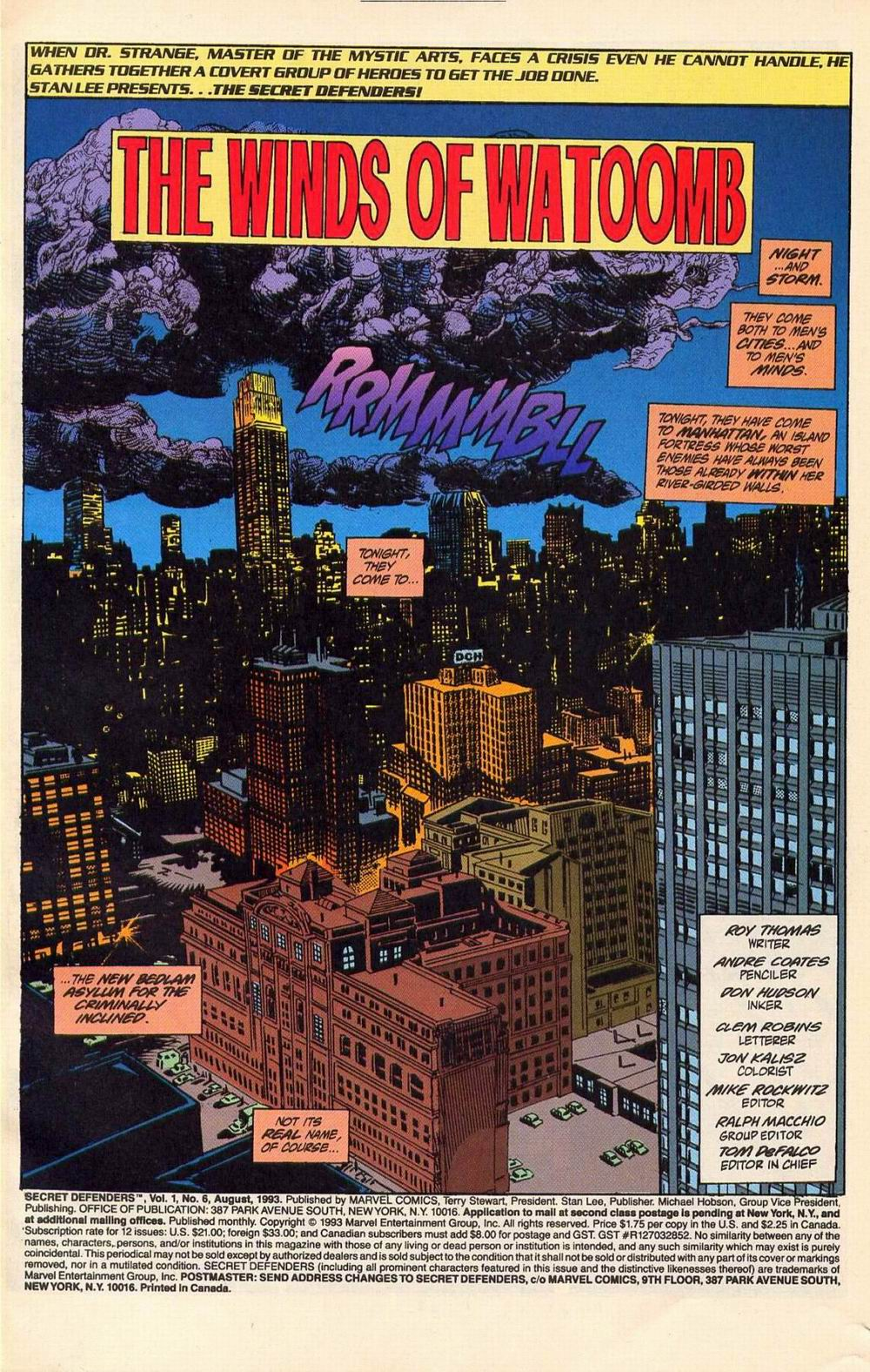 Read online Secret Defenders comic -  Issue #6 - 2