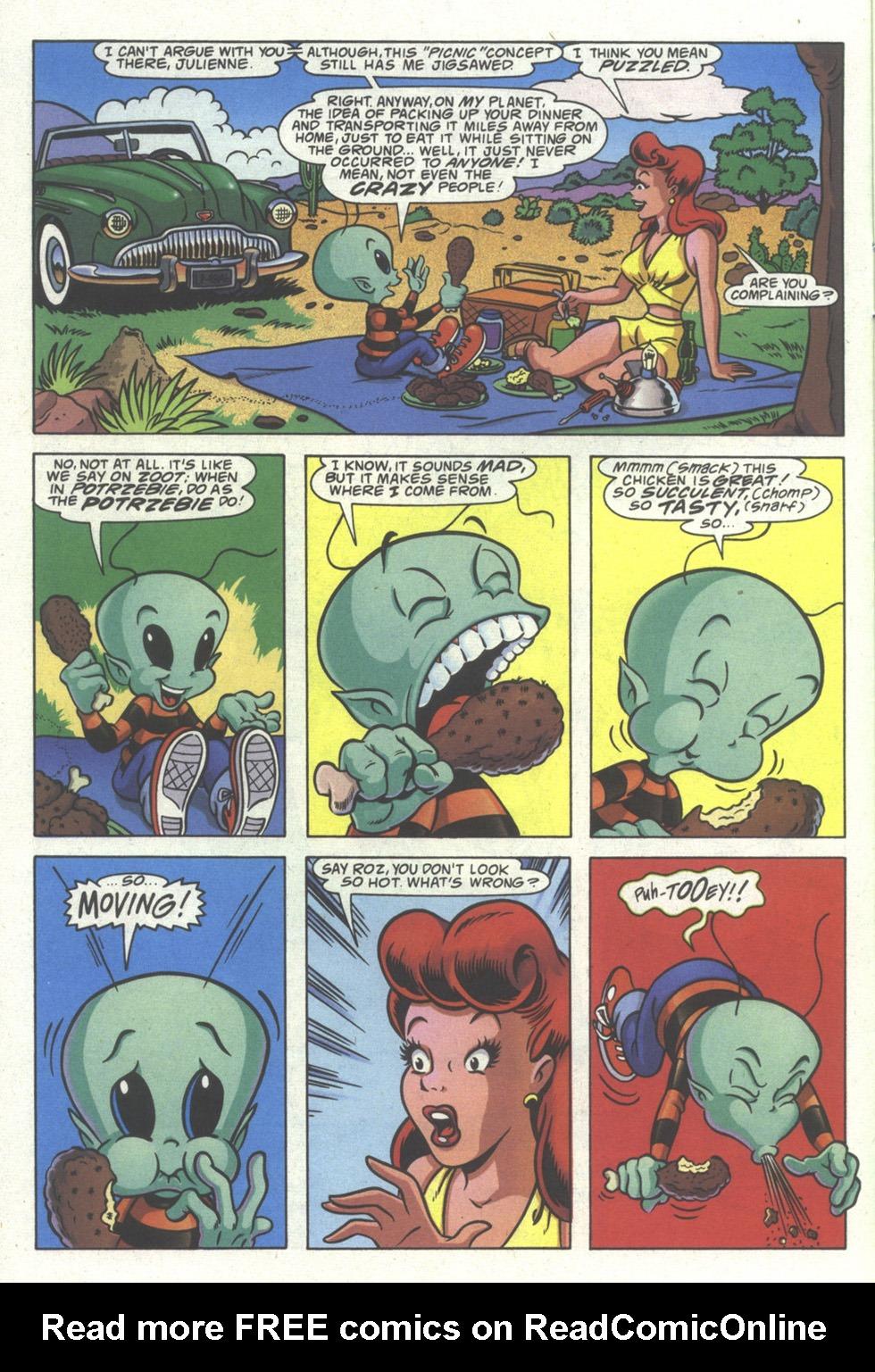 Read online Simpsons Comics comic -  Issue #19 - 24