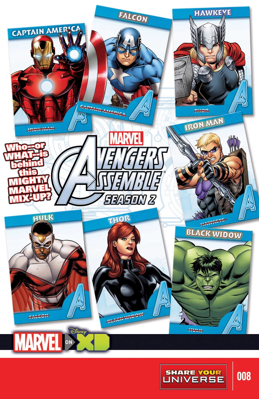 Read online Marvel Universe Avengers Assemble Season 2 comic -  Issue #8 - 1