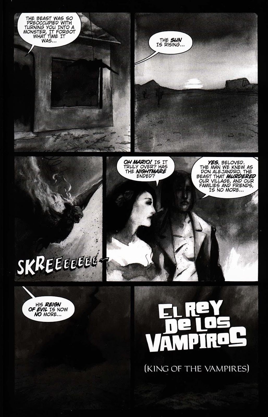 Read online Vampire the Masquerade comic -  Issue # Toreador - 9