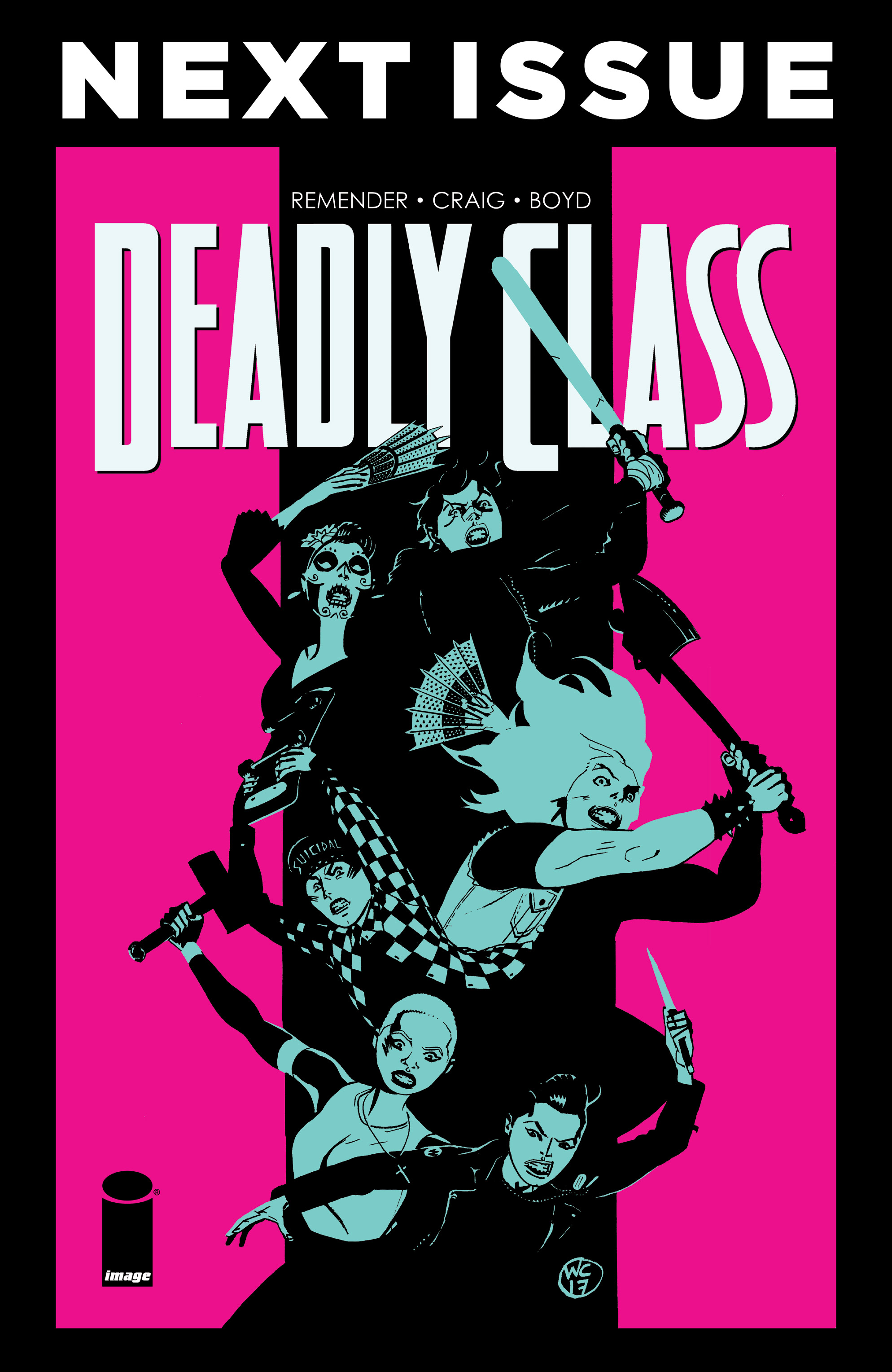 Read online Deadly Class comic -  Issue #28 - 31