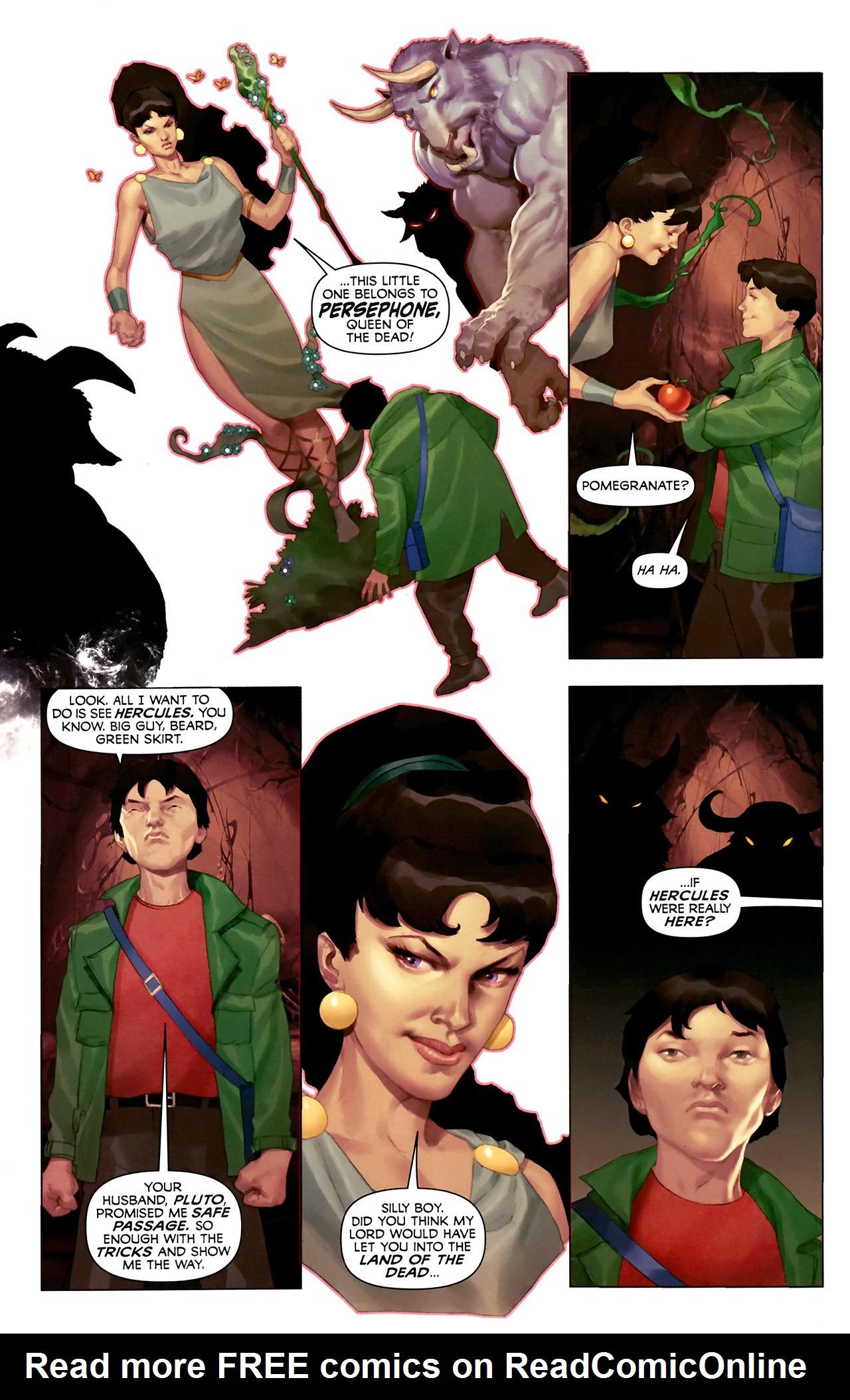 Read online Hercules: Fall of an Avenger comic -  Issue #2 - 21