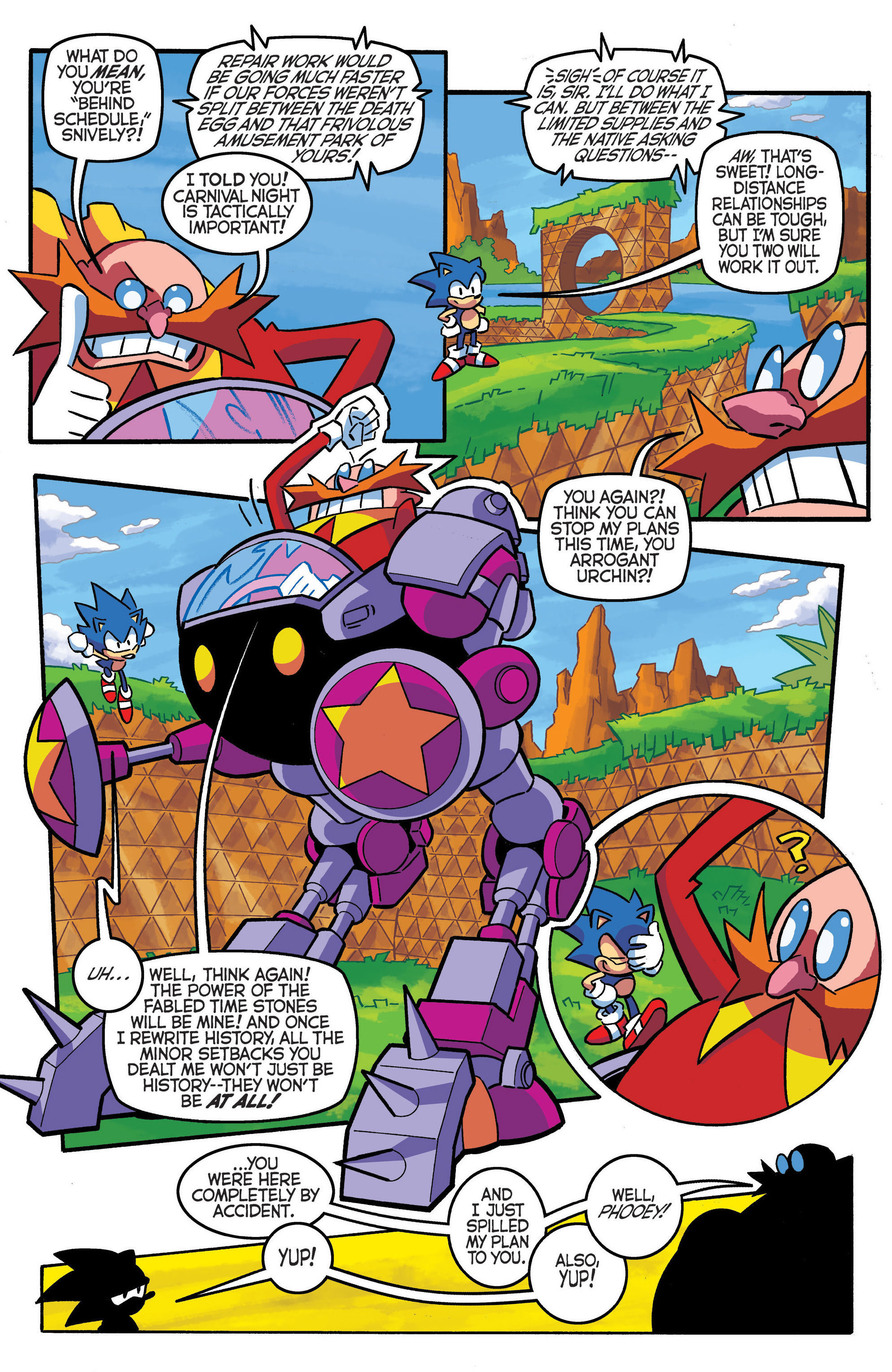 Read online Sonic The Hedgehog comic -  Issue #290 - 9