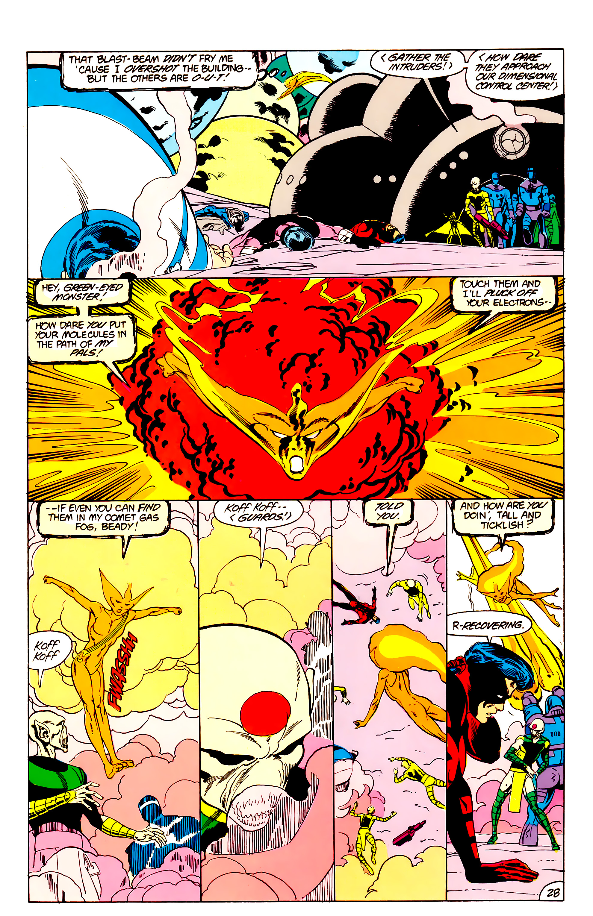 Legion of Super-Heroes (1984) _Annual_3 Page 28