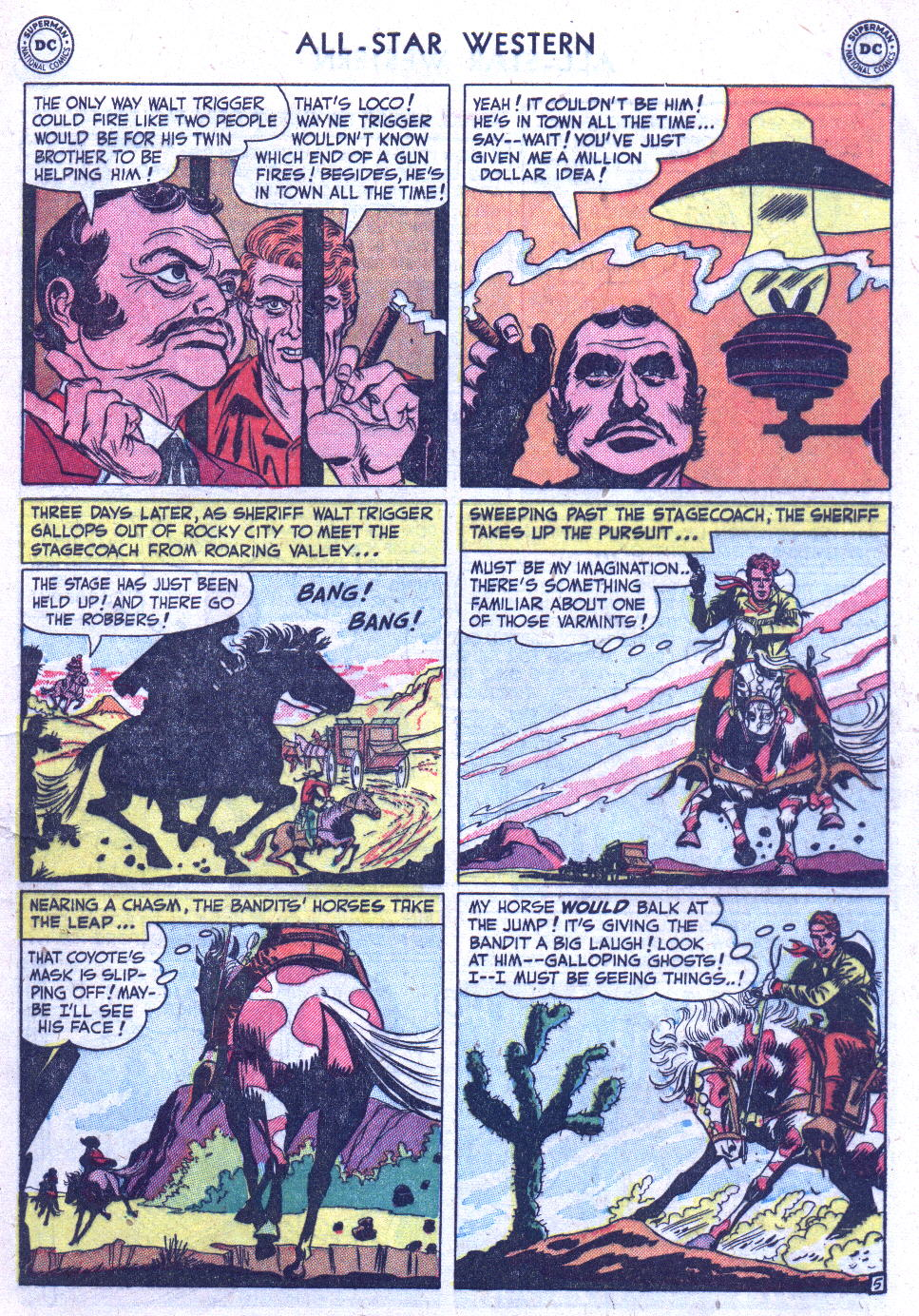 Read online All-Star Western (1951) comic -  Issue #59 - 7