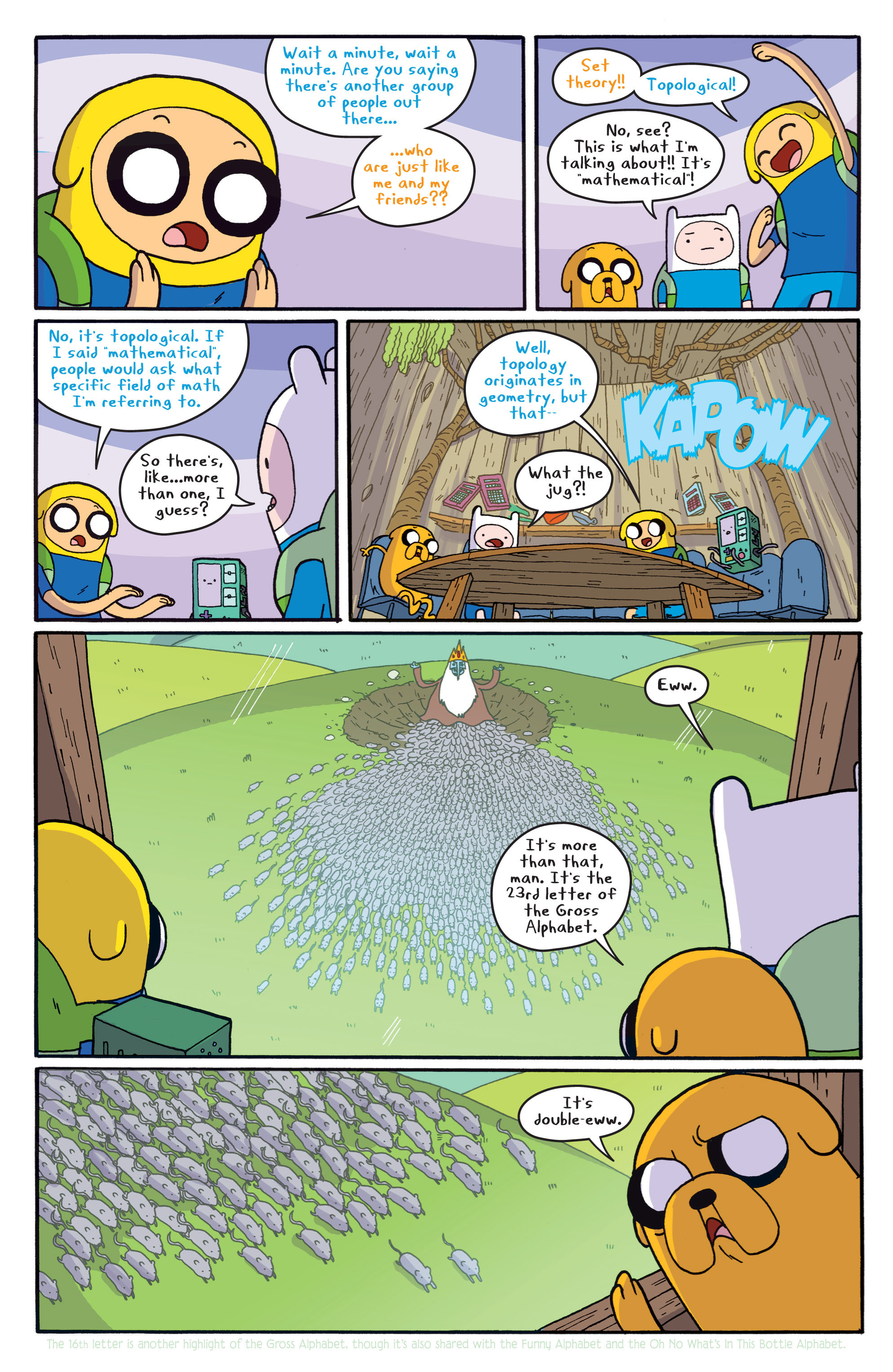 Read online Adventure Time comic -  Issue #5 - 18