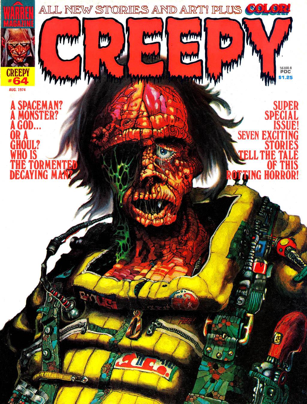 Creepy (1964) 64 Page 1
