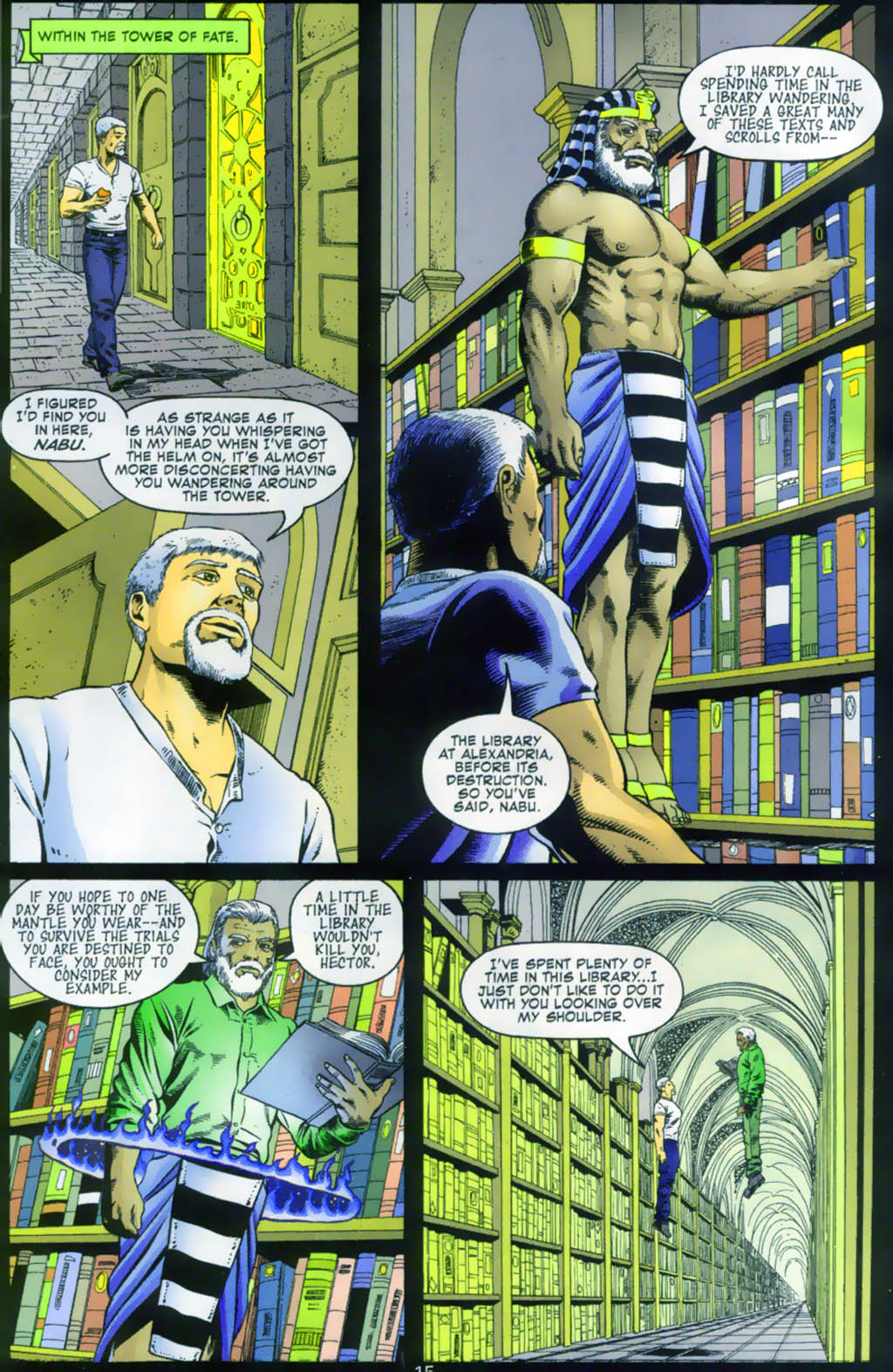 Read online Doctor Fate (2003) comic -  Issue #1 - 15