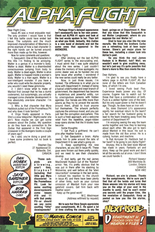 Read online Alpha Flight (1997) comic -  Issue #7 - 17