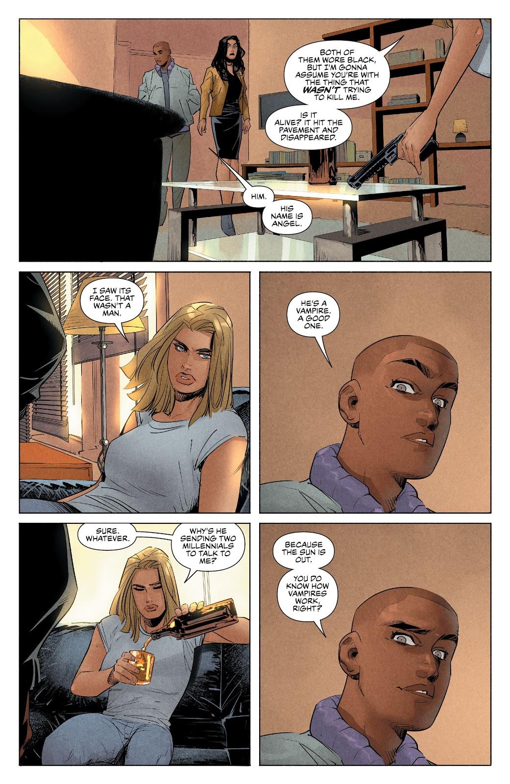 Read online Angel   Spike comic -  Issue #10 - 20